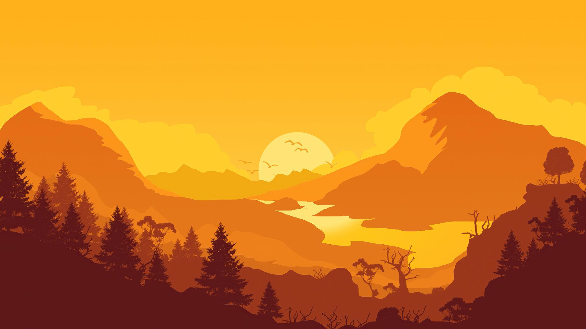 firewatch-sunrise-minimal-4k-u9.jpg