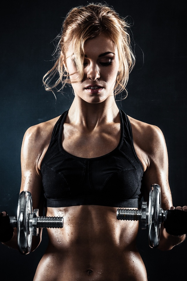 640x960 Fitness Gym Girl Iphone 4 Iphone 4s Hd 4k