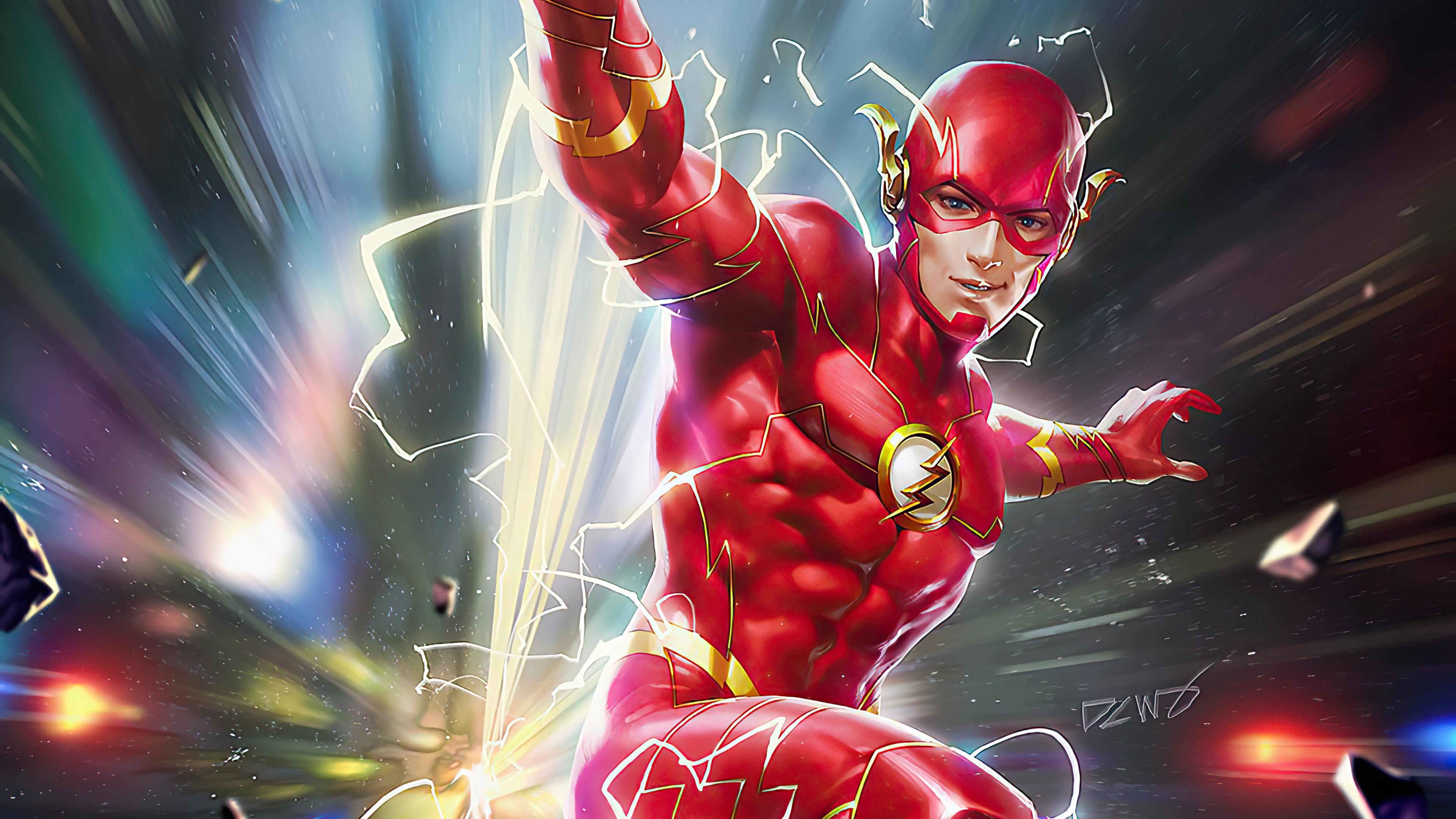 3840x2160 Flash Hero 4k HD 4k Wallpapers, Images ...