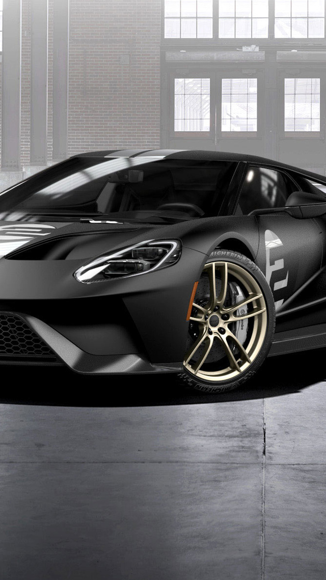 Ford Gt  Heritage Edition Side View Pc