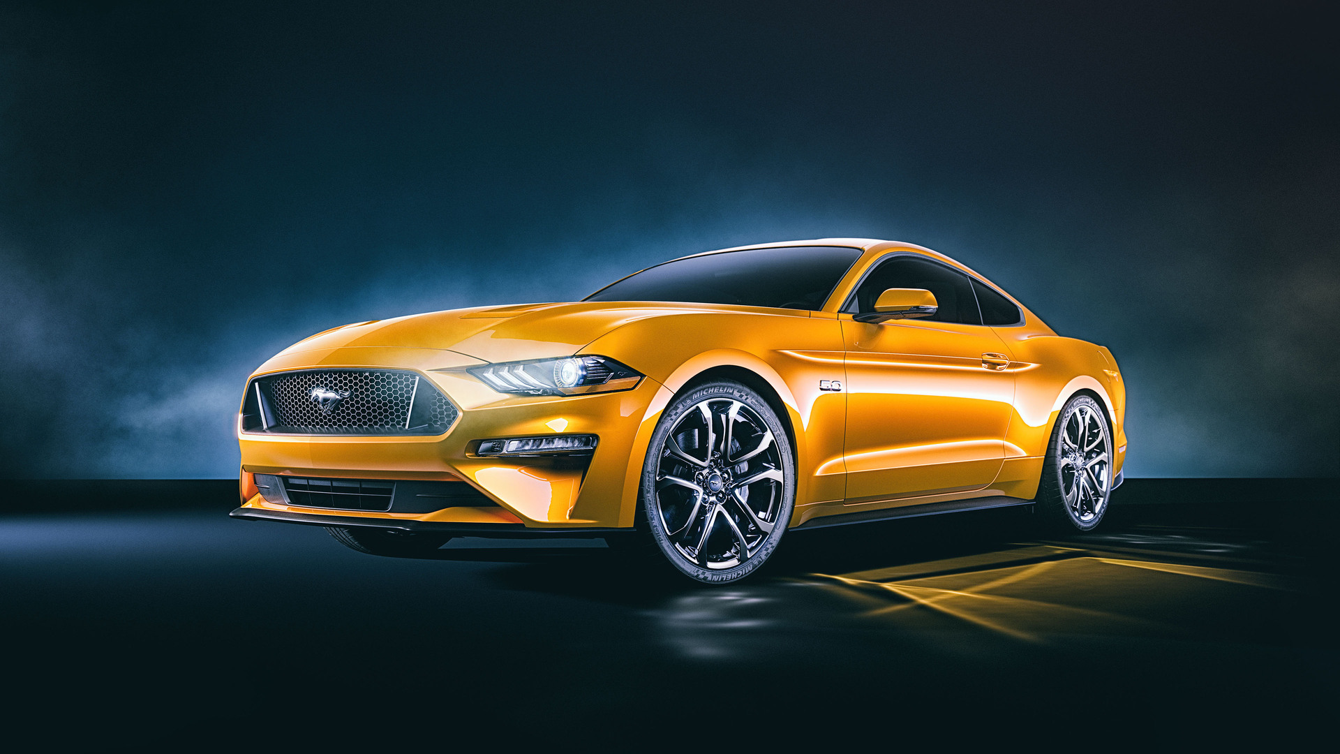 1920x1080 Ford Mustang GT 4k Front Laptop Full HD 1080P HD ...