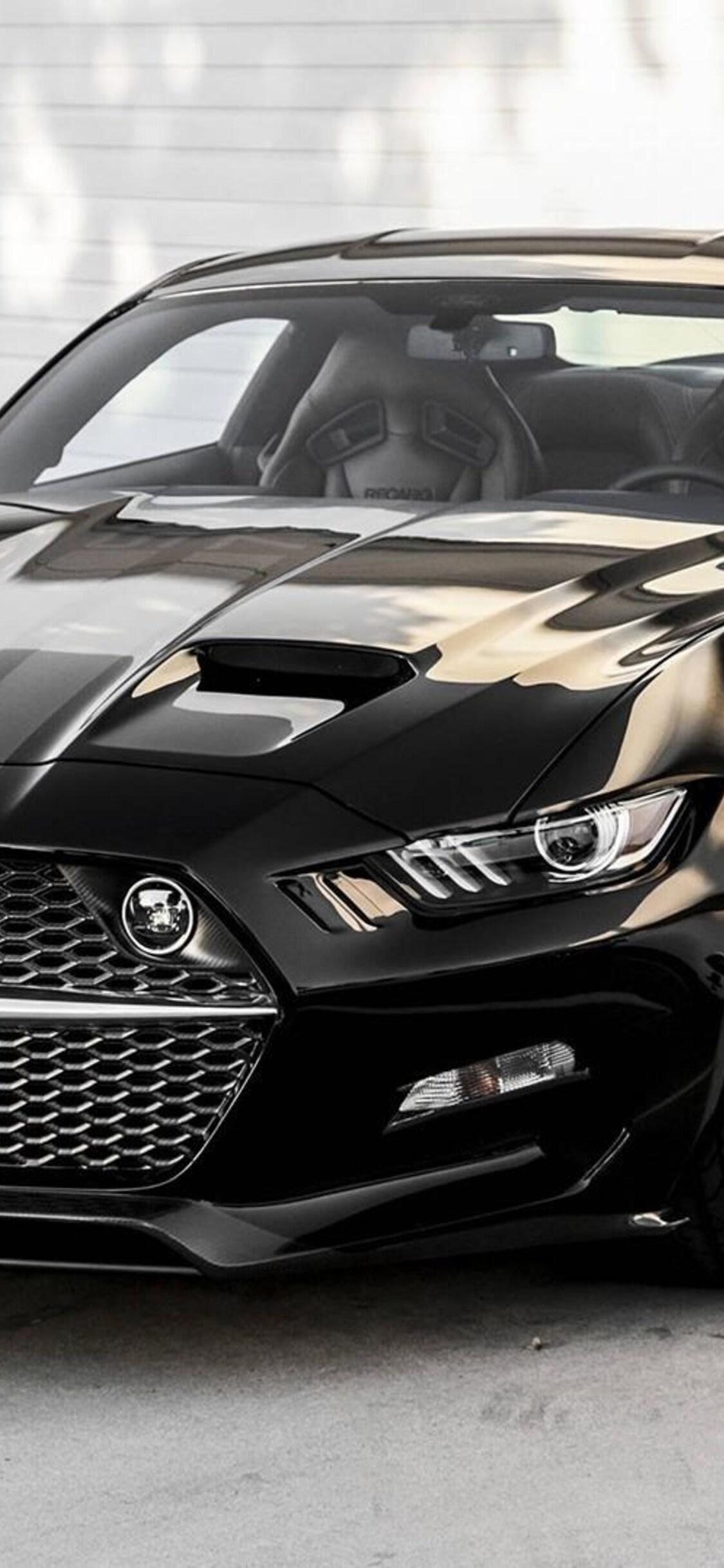 Ford Mustang Gt Black Pic Jpg