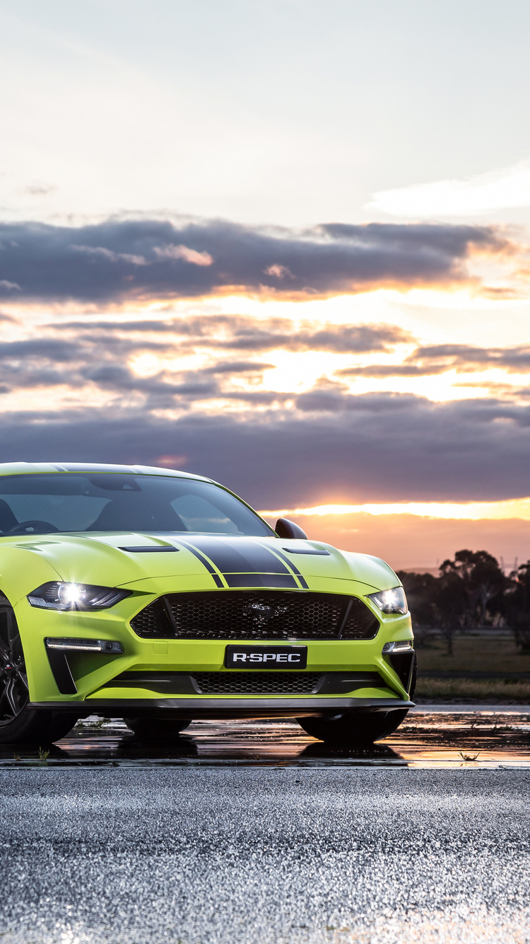 750x1334 Ford Mustang GT Fastback 2019 iPhone 6, iPhone 6S ...