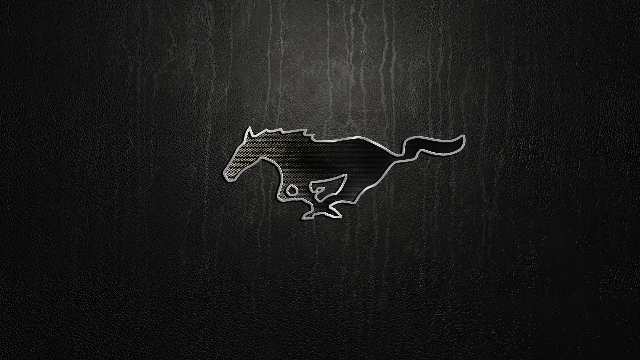 2560x1440 Ford Mustang Logo 4k 1440p Resolution Hd 4k Wallpapers Images Backgrounds Photos And Pictures