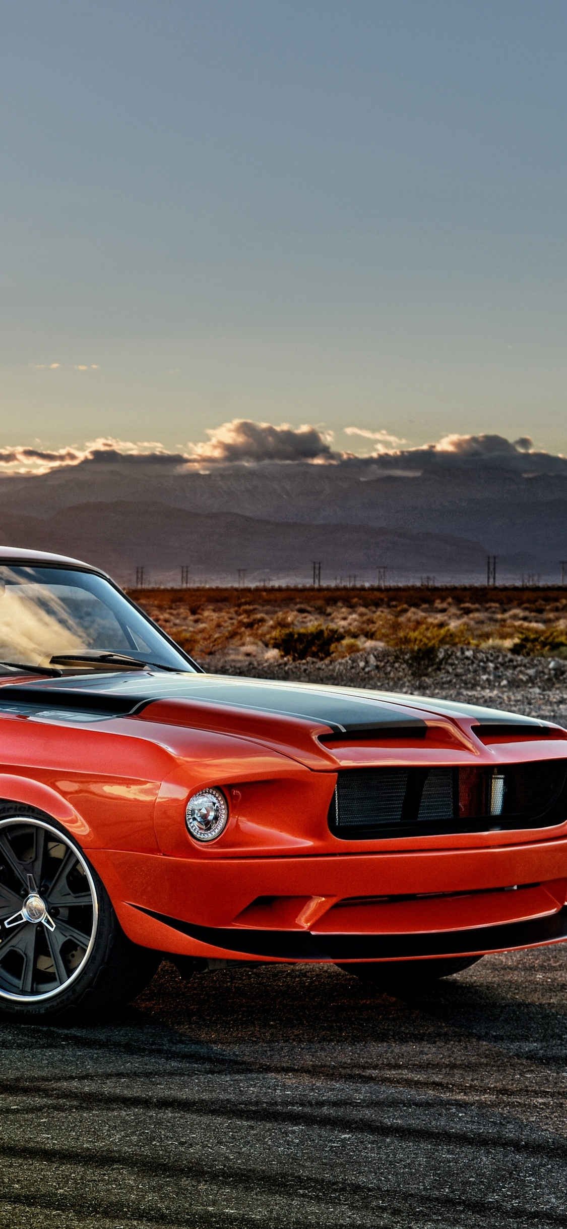 1125x2436 Ford Mustang Muscle Car 4k Iphone Xs Iphone 10