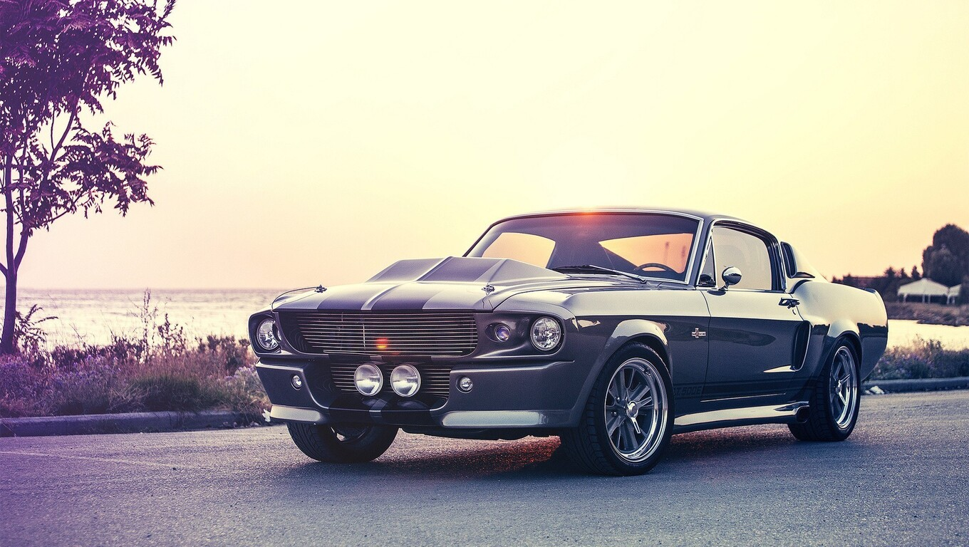 1360x768 Ford Mustang Muscle Car Laptop Hd Hd 4k Wallpapers Images