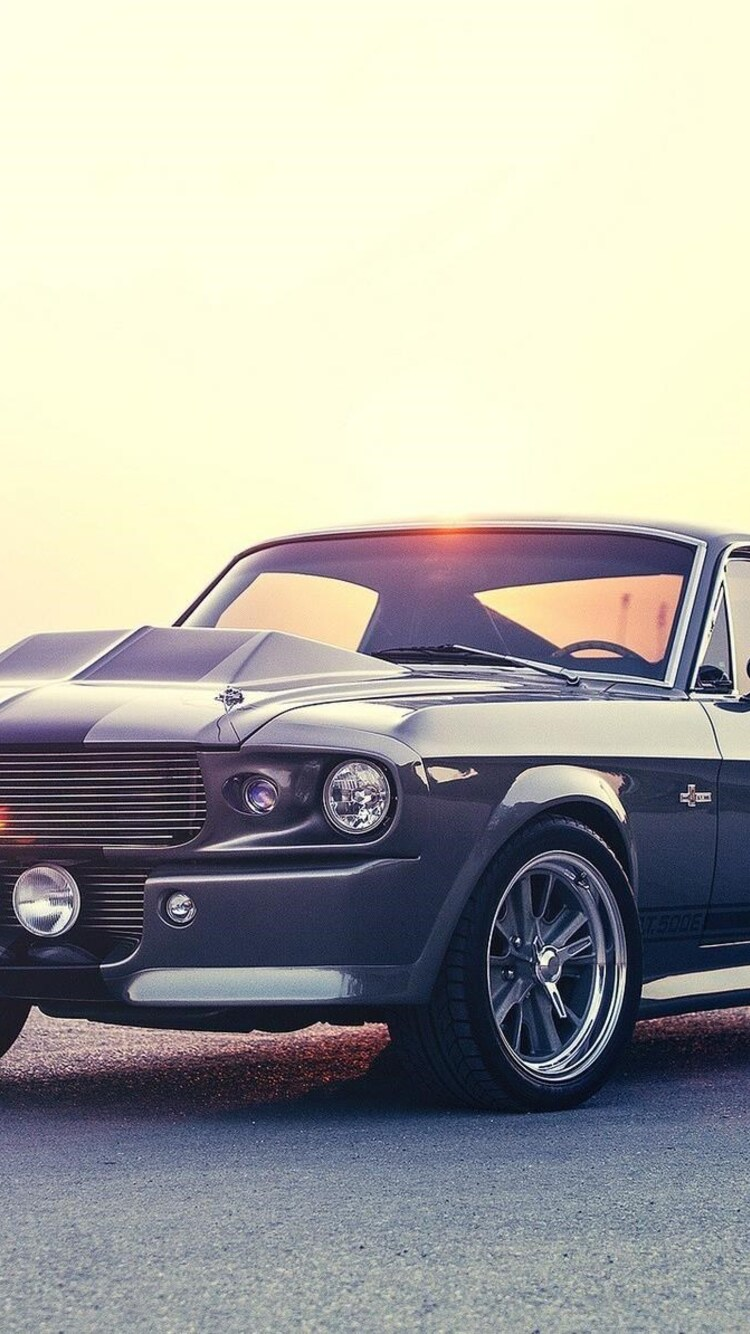 750x1334 Ford Mustang Muscle Car Iphone 6 Iphone 6s Iphone 7 Hd
