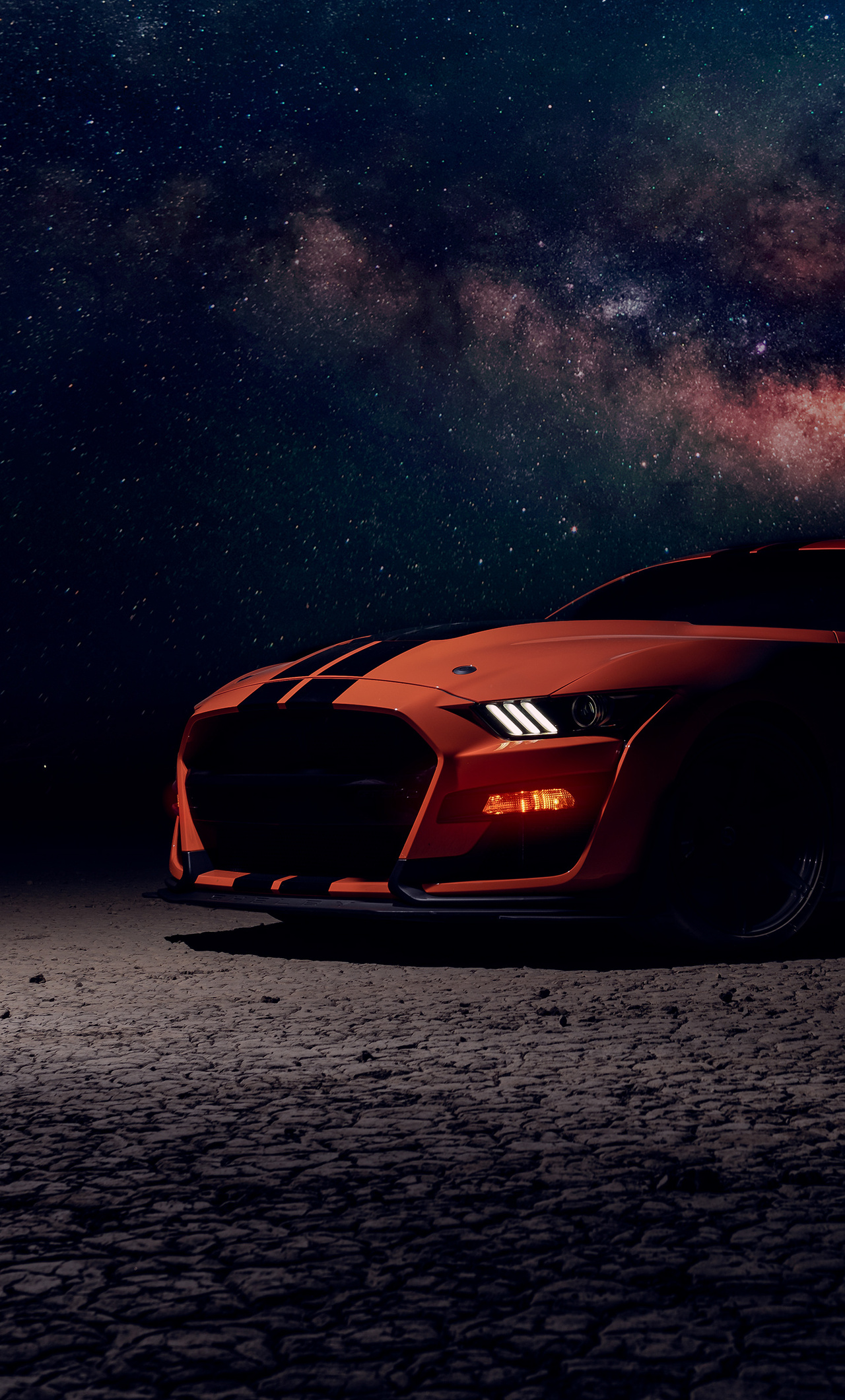 1280x2120 Ford Mustang Shelby Gt500 Sky Lights iPhone 6 ...
