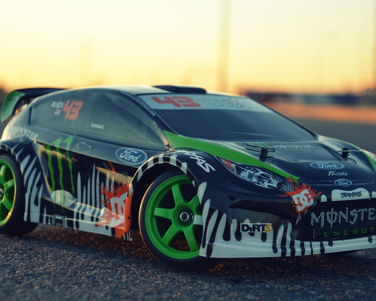 Download Ford Remote Control Rc Drift Car Hd Wallpapers In