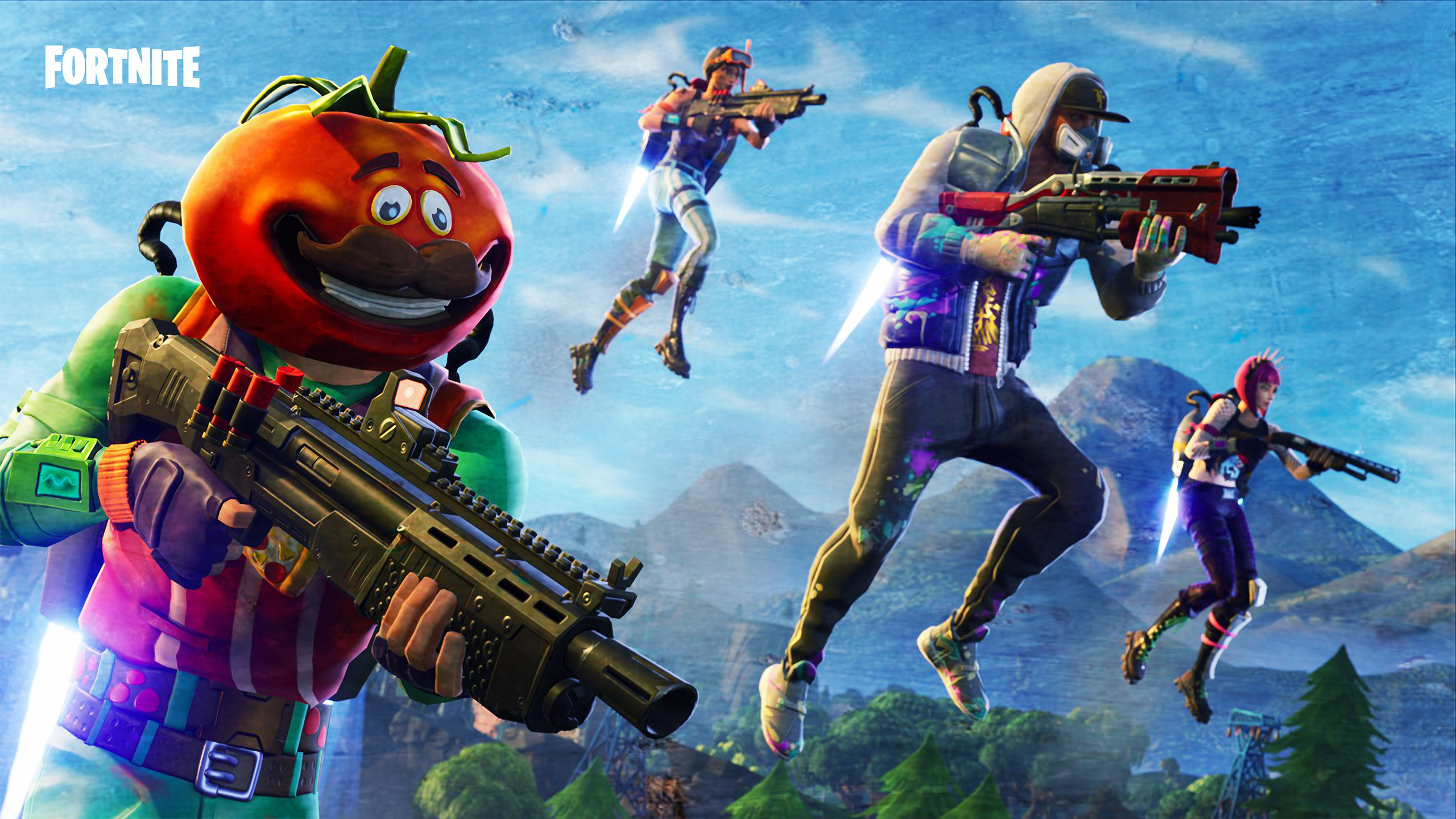 2560x1440 Fortnite 2018 Game 1440p Resolution Hd 4k