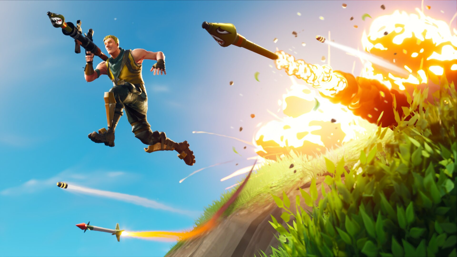 Desktop Wallpaper 2018 Video Game Fortnite Art Hd: 1920x1080 Fortnite 2018 Laptop Full HD 1080P HD 4k