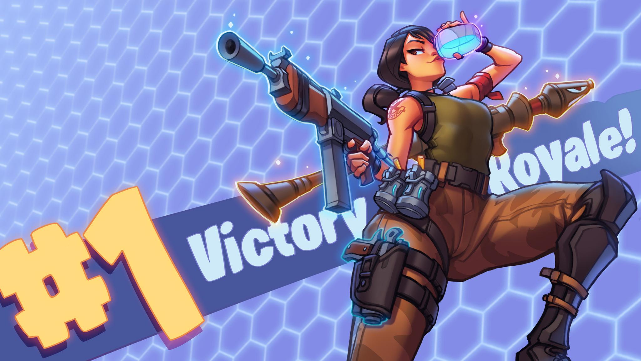 2048x1152 Fortnite 2018 Victory Royale 2048x1152 Resolution