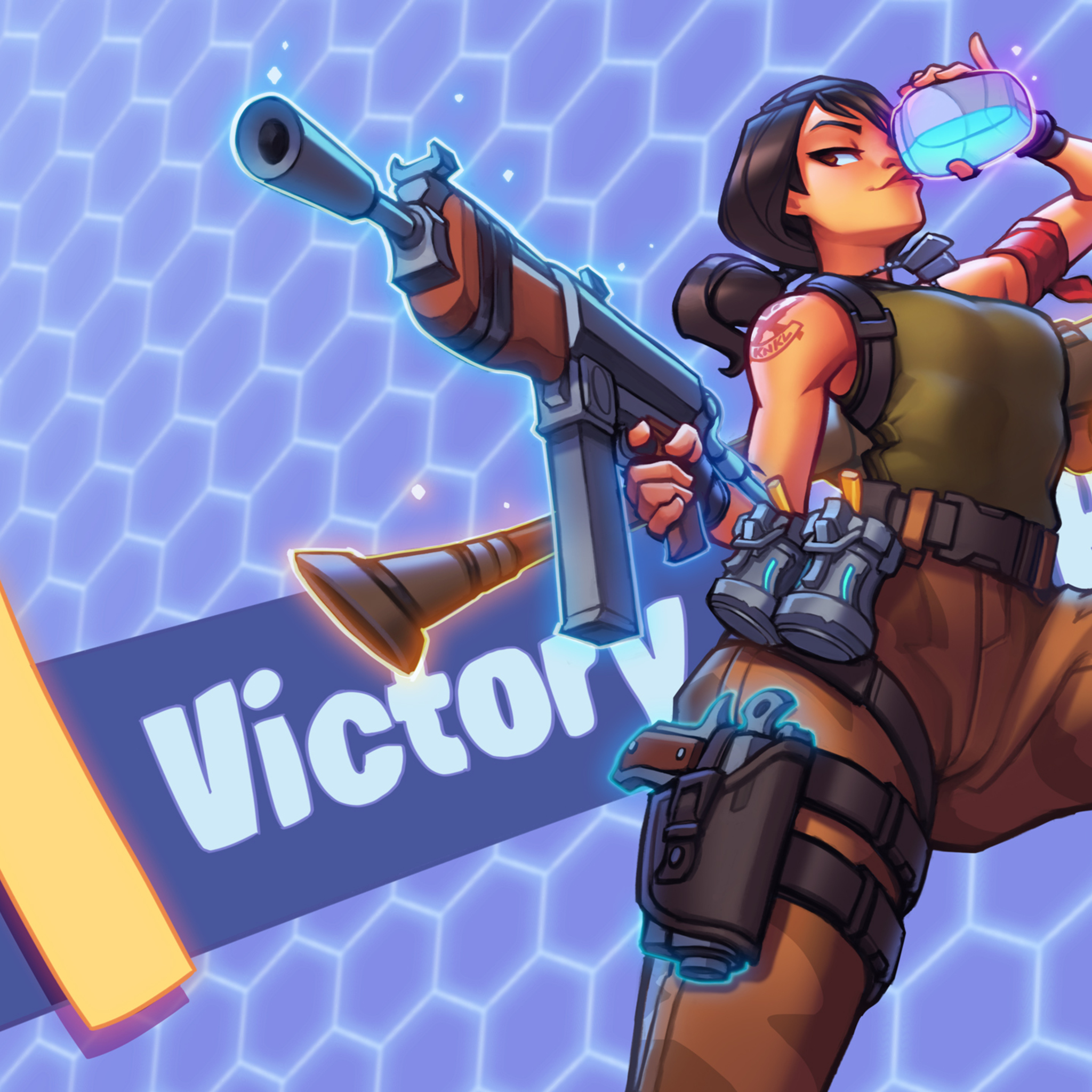 2048x2048 Fortnite 2018 Victory Royale Ipad Air HD 4k