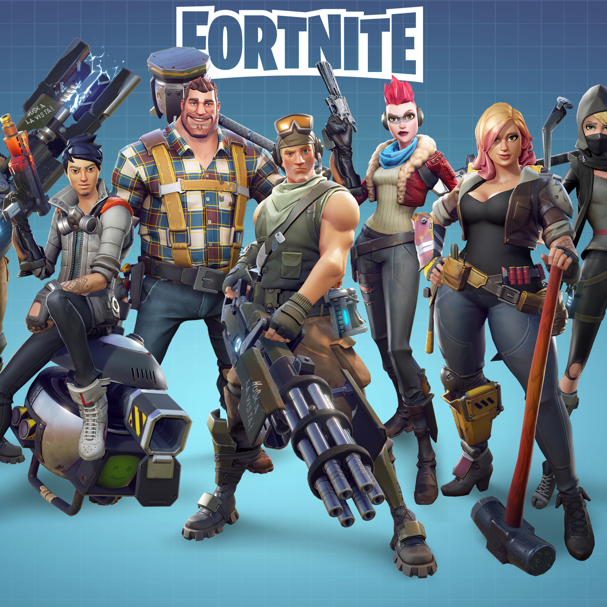 2048x2048 Fortnite 5k Ipad Air Hd 4k Wallpapers Images Backgrounds