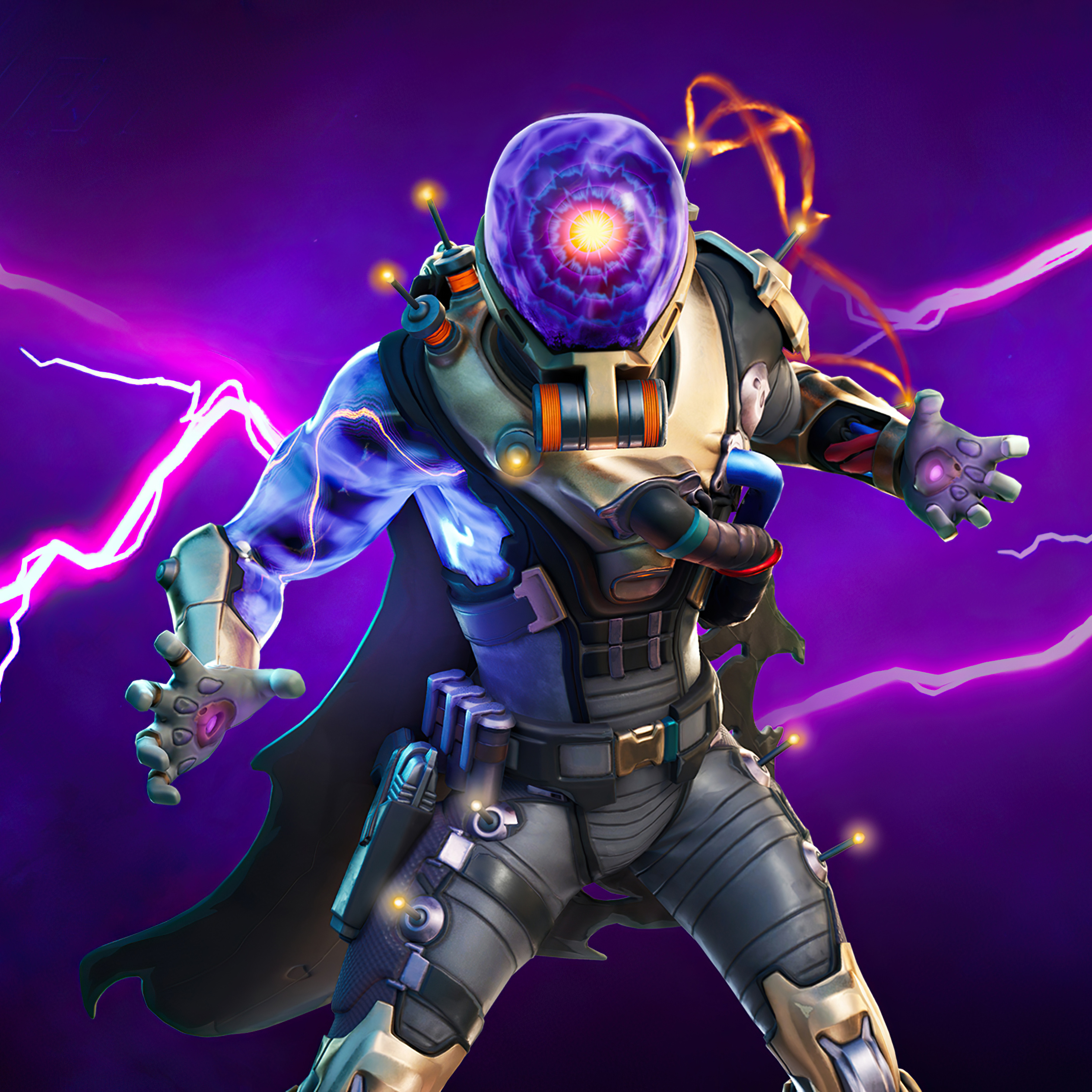 2932x2932 Fortnite Chapter 2 Season 3 Cyclo Outfit Ipad Pro Retina Display Hd 4k Wallpapers Images Backgrounds Photos And Pictures