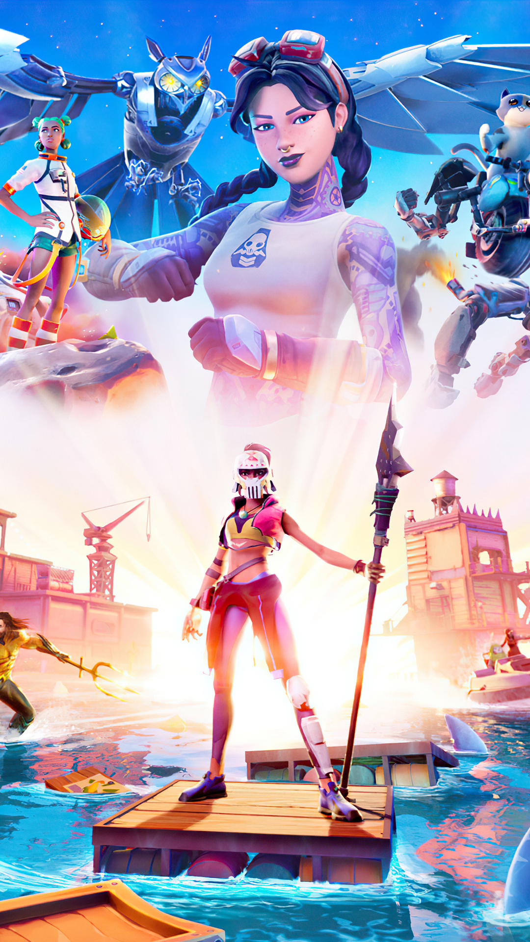 1080x1920 Fortnite Chapter 2 Season 3 Iphone 7 6s 6 Plus Pixel Xl One Plus 3 3t 5 Hd 4k Wallpapers Images Backgrounds Photos And Pictures