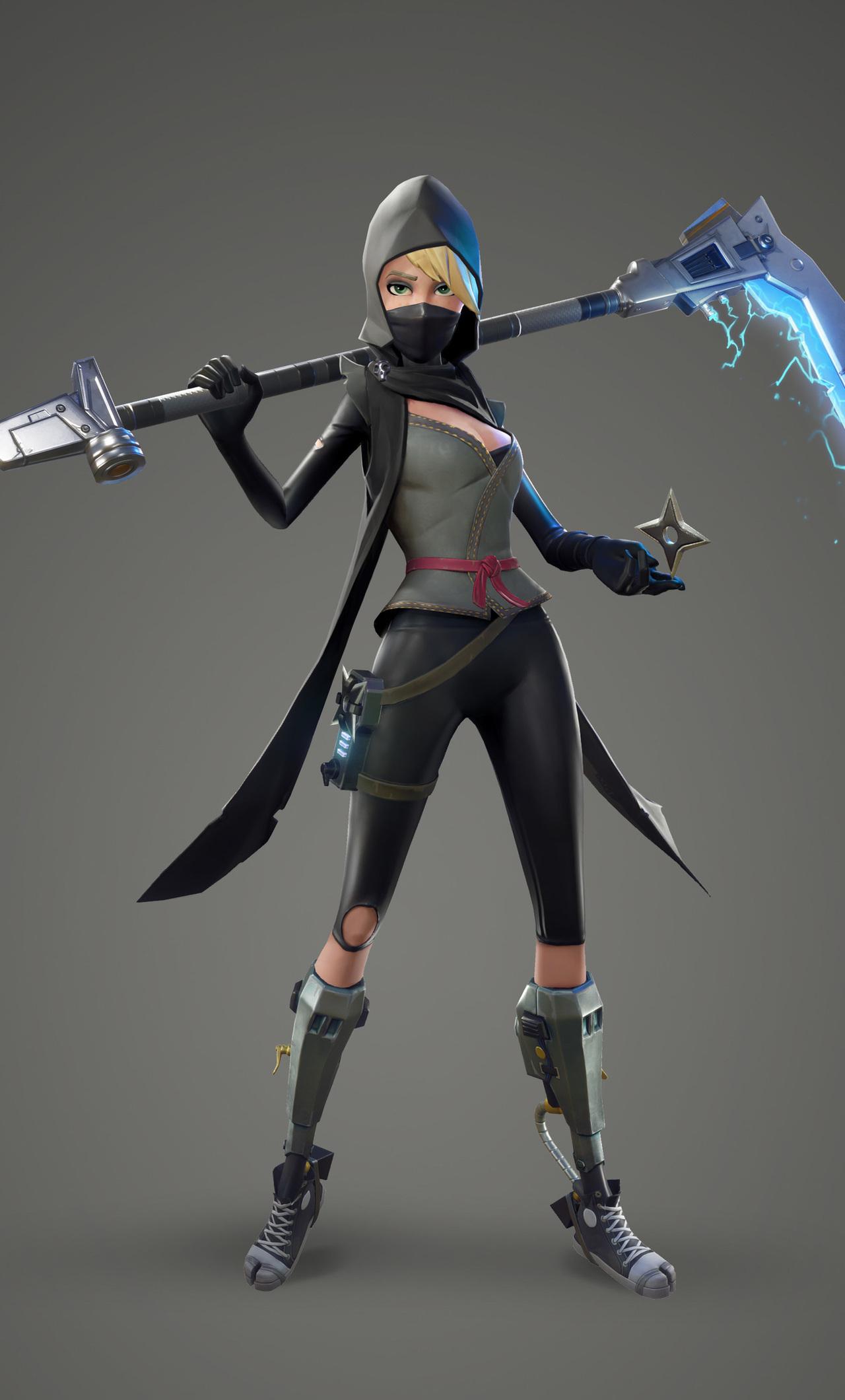 Fortnite Female Ninja 6b