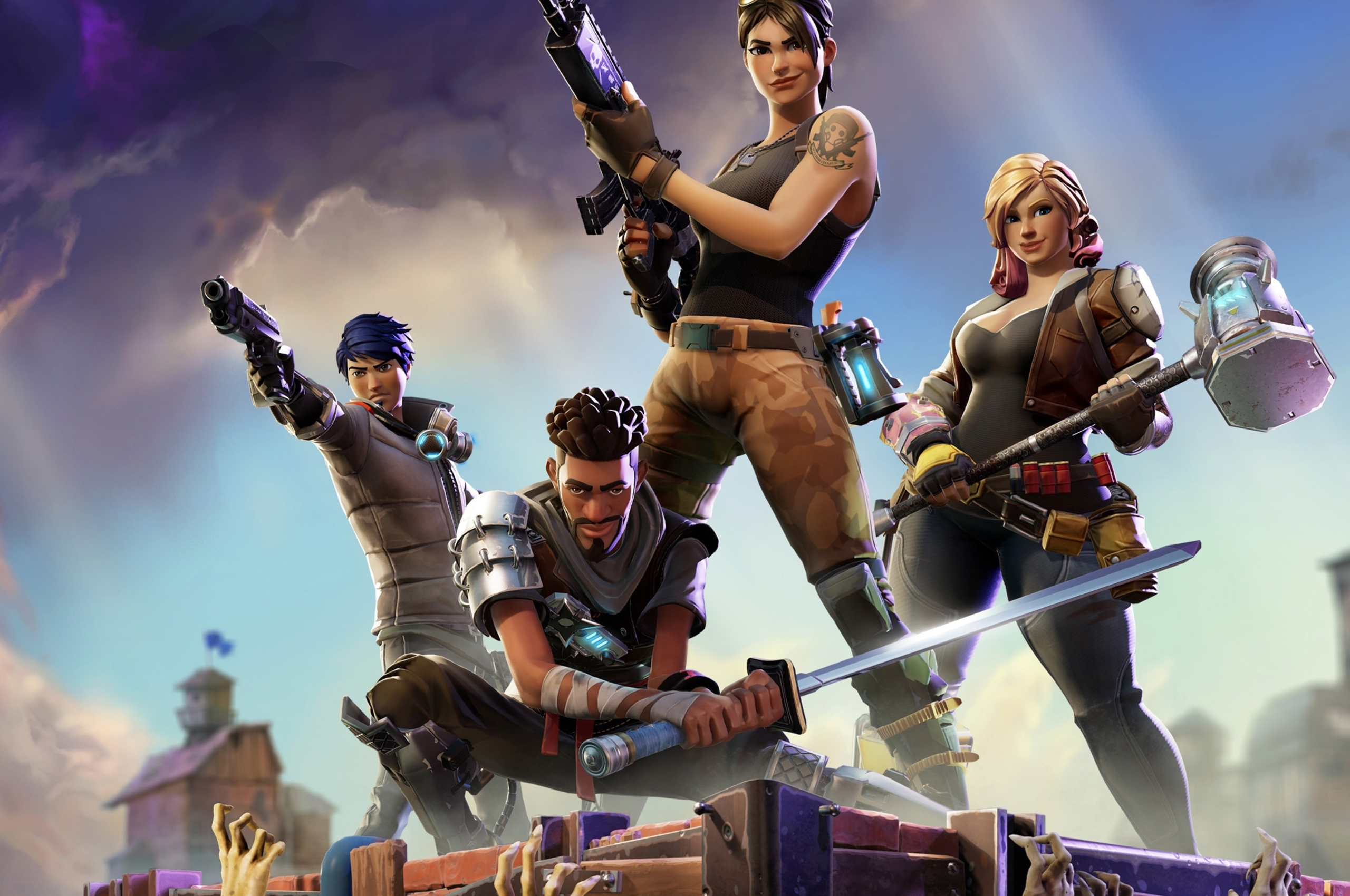 2560x1700 Fortnite Video Game Chromebook Pixel Hd 4k Wallpapers