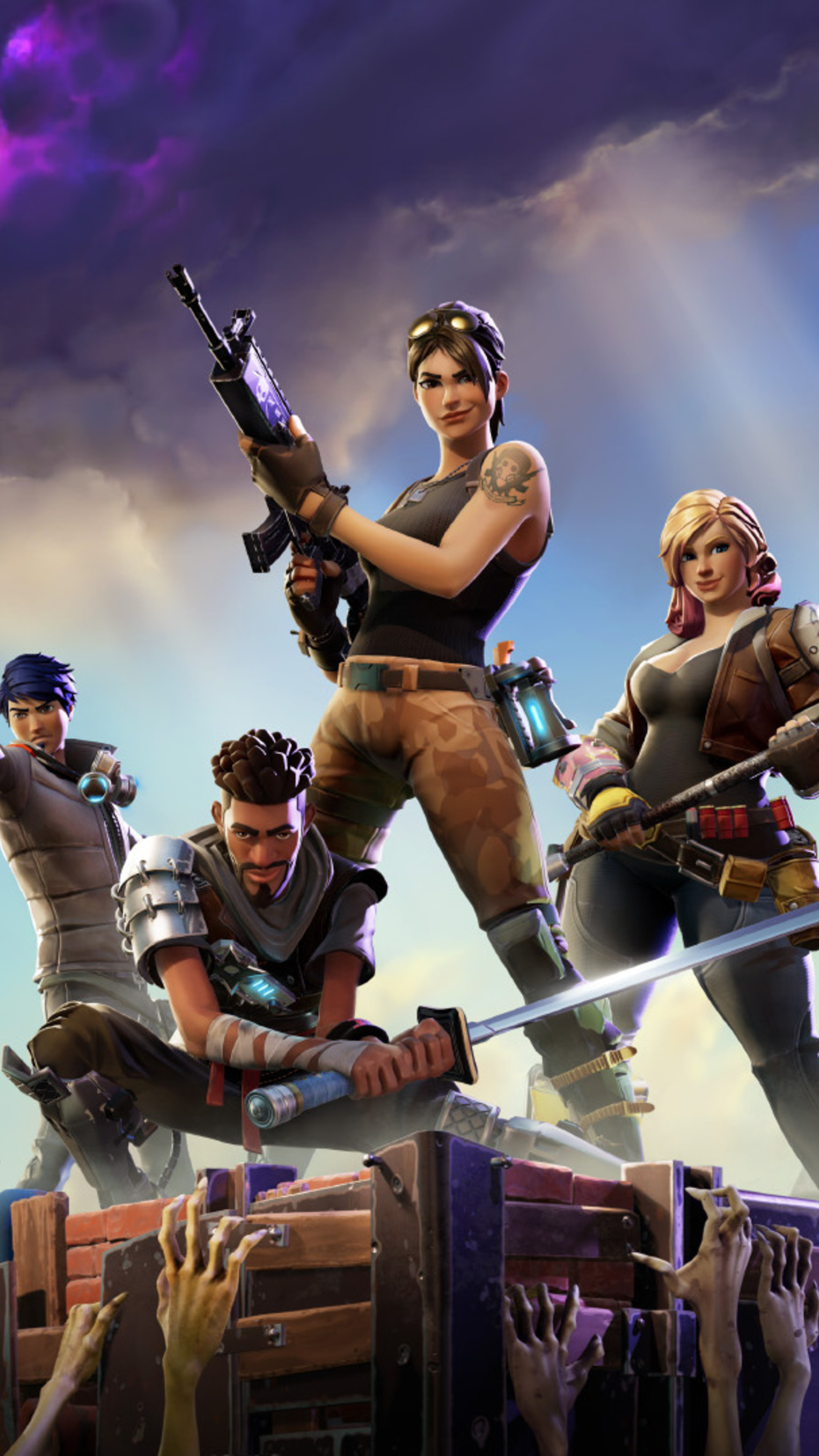 2160X3840 Fortnite Hd Sony Xperia X,Xz,Z5 Premium Hd 4K Wallpapers, Images -8117