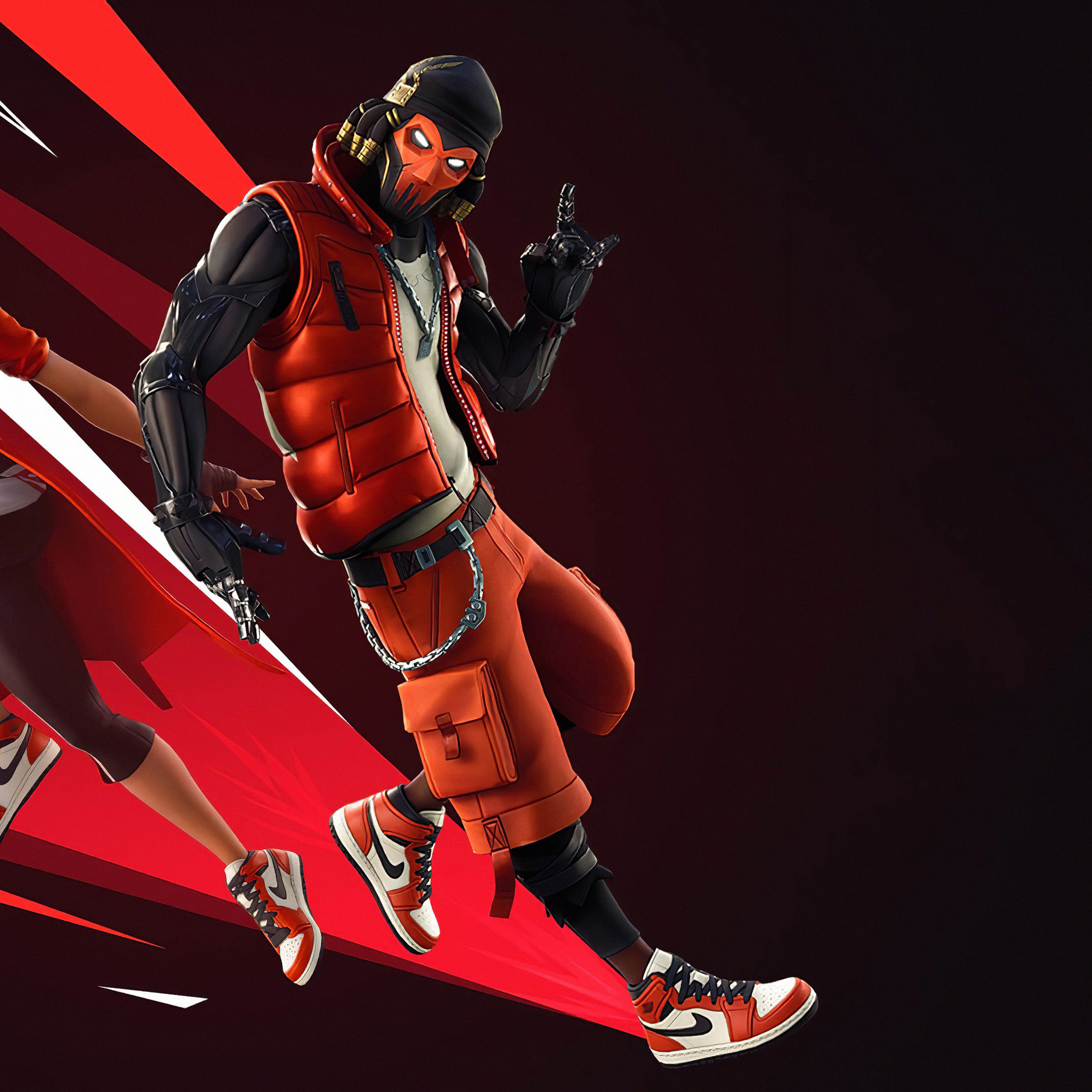 2932x2932 Fortnite Jordan 4k Ipad Pro Retina Display Hd 4k Wallpapers Images Backgrounds Photos And Pictures