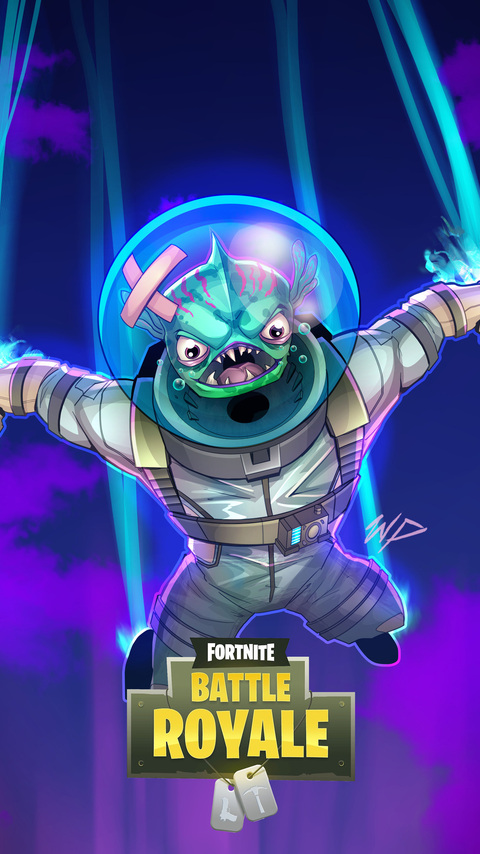 480x854 Fortnite Leviathan Fan Art Android One Hd 4k Wallpapers Images Backgrounds Photos And Pictures
