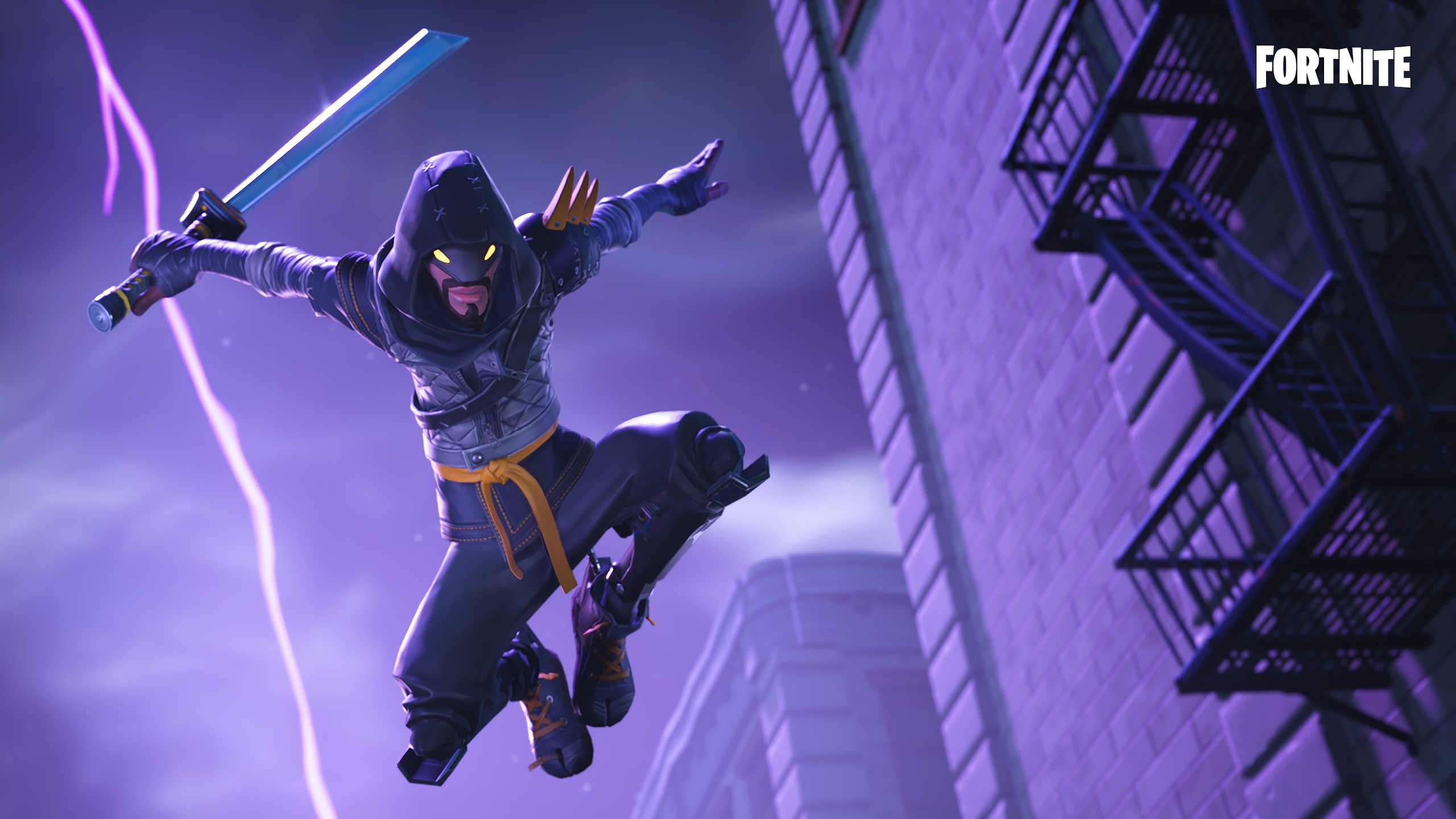 2560x1440 Fortnite Mythic Cloaked Star Ninja 1440p