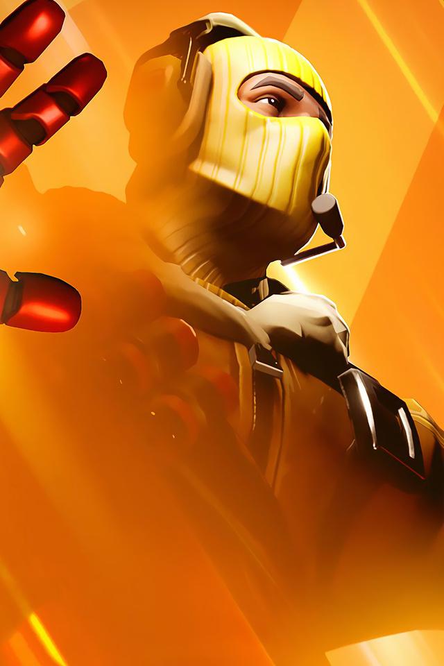 640x960 Fortnite Raptor Iron Man Avengers Endgame Iphone 4