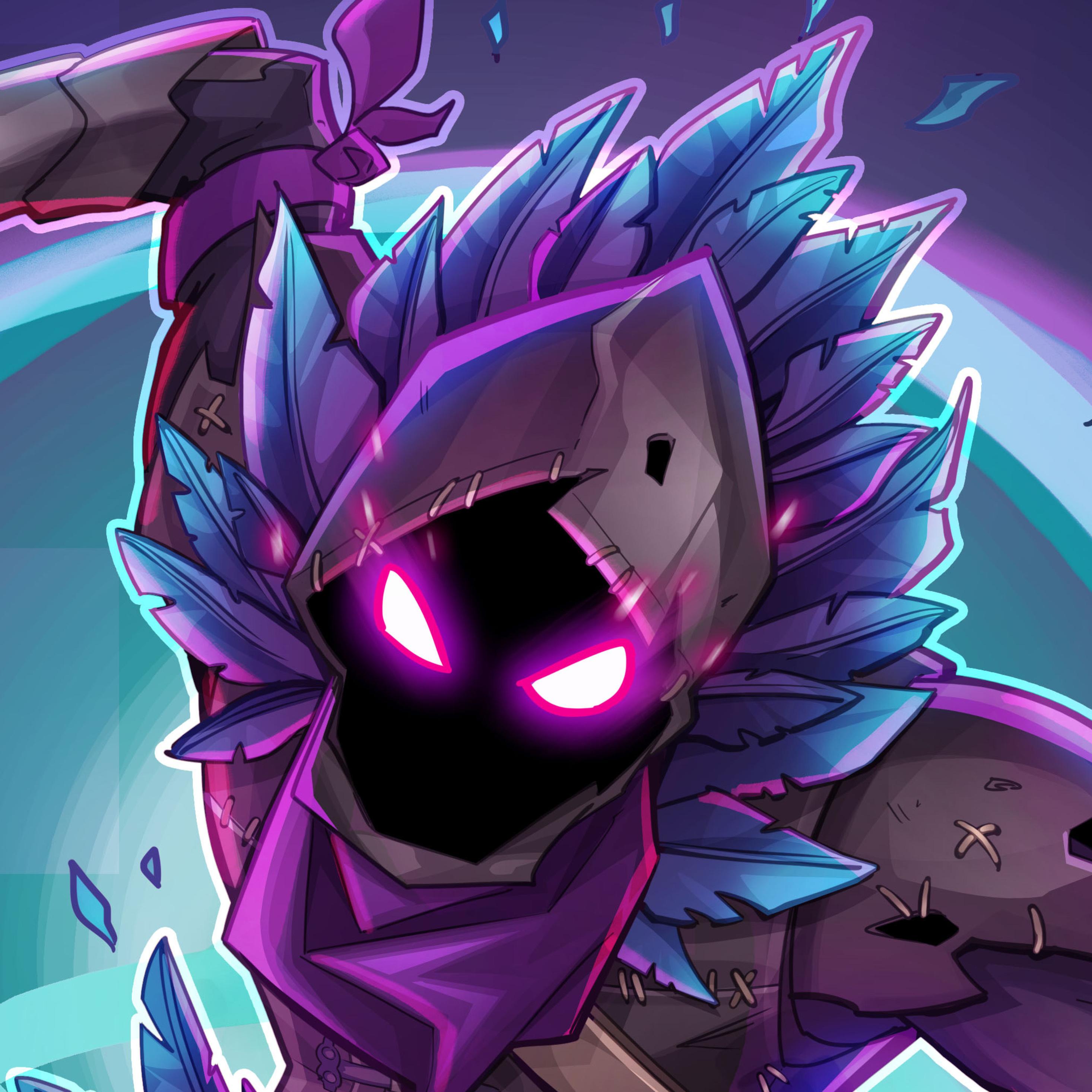 Fortnite Raven Fan Art Bz