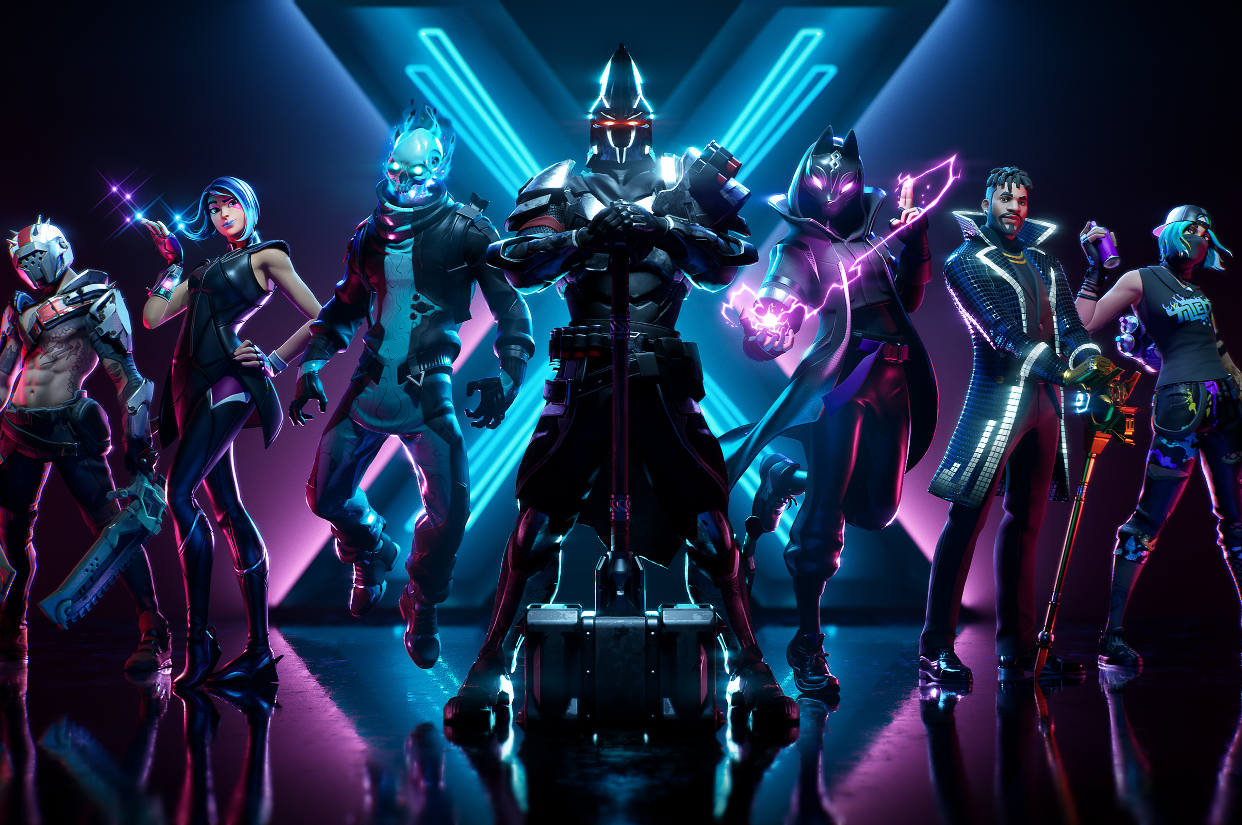 2560x1700 Fortnite Season X Chromebook Pixel Hd 4k Wallpapers Images Backgrounds Photos And Pictures