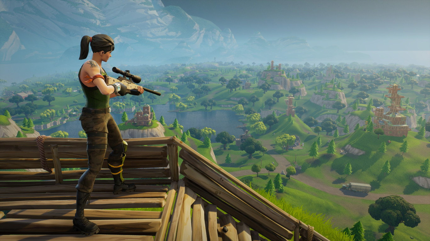 1366x768 Fortnite Sniper 8k Resolution HD 4k Wallpapers Images Backgrounds Photos And Pictures