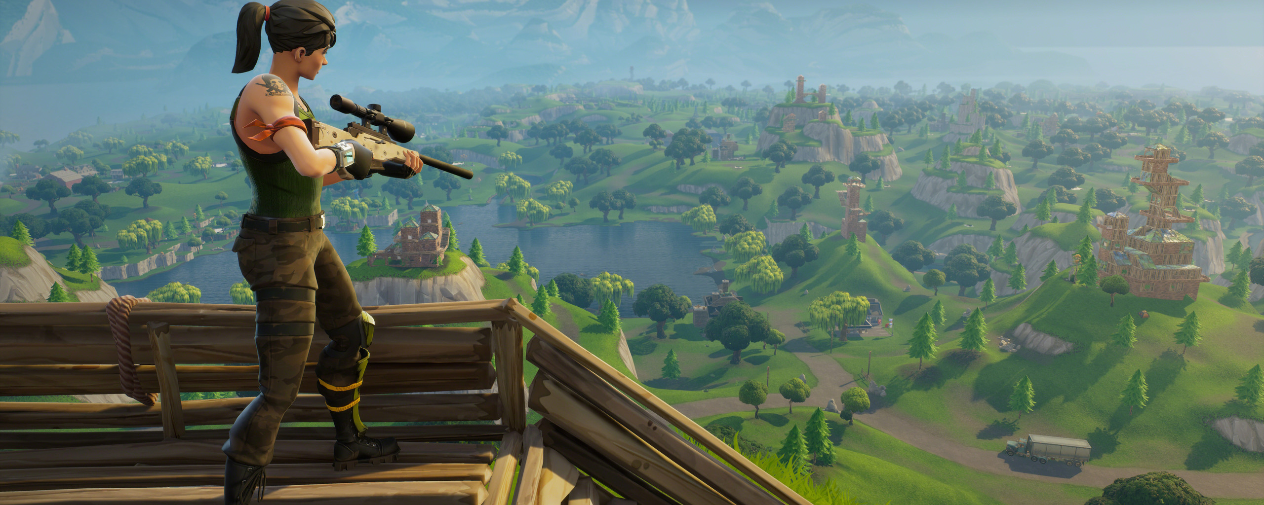 2560x1024 Fortnite Sniper 8k 2560x1024 Resolution HD 4k Wallpapers, Images, Backgrounds, Photos and Pictures