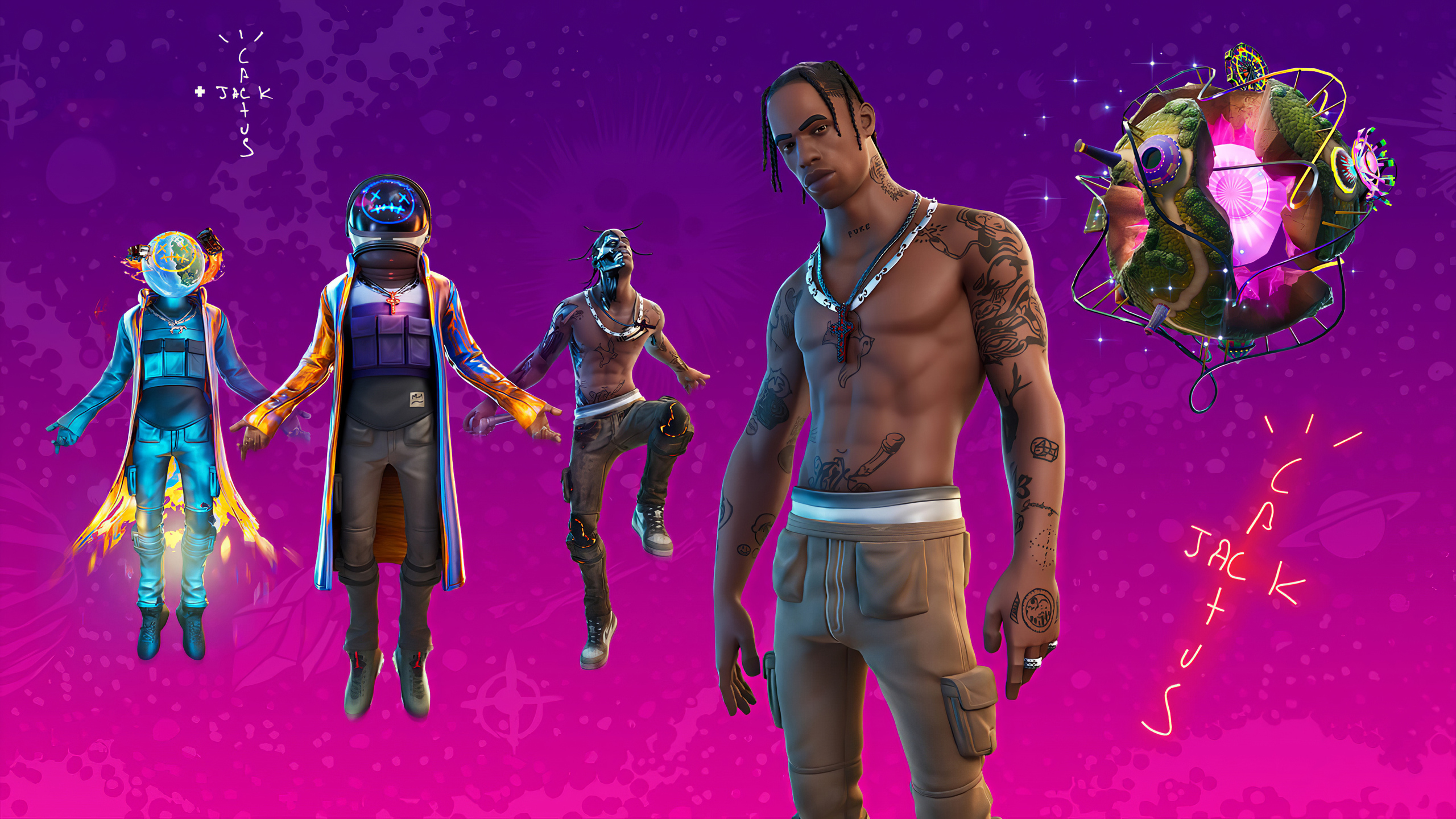 2560x1440 Fortnite Travis Scott 2020 1440p Resolution Hd 4k Wallpapers Images Backgrounds Photos And Pictures
