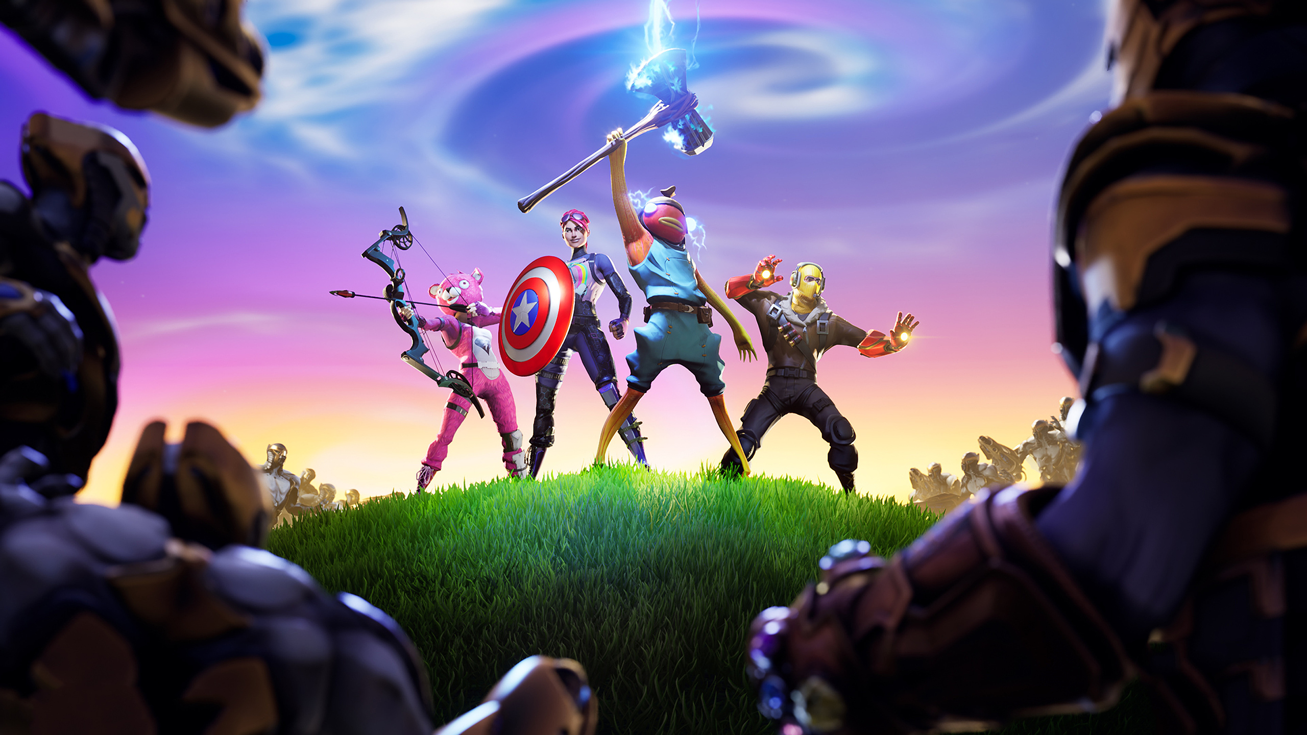 2560x1440 Fortnite X Avengers 1440p Resolution Hd 4k Wallpapers Images Backgrounds Photos And Pictures