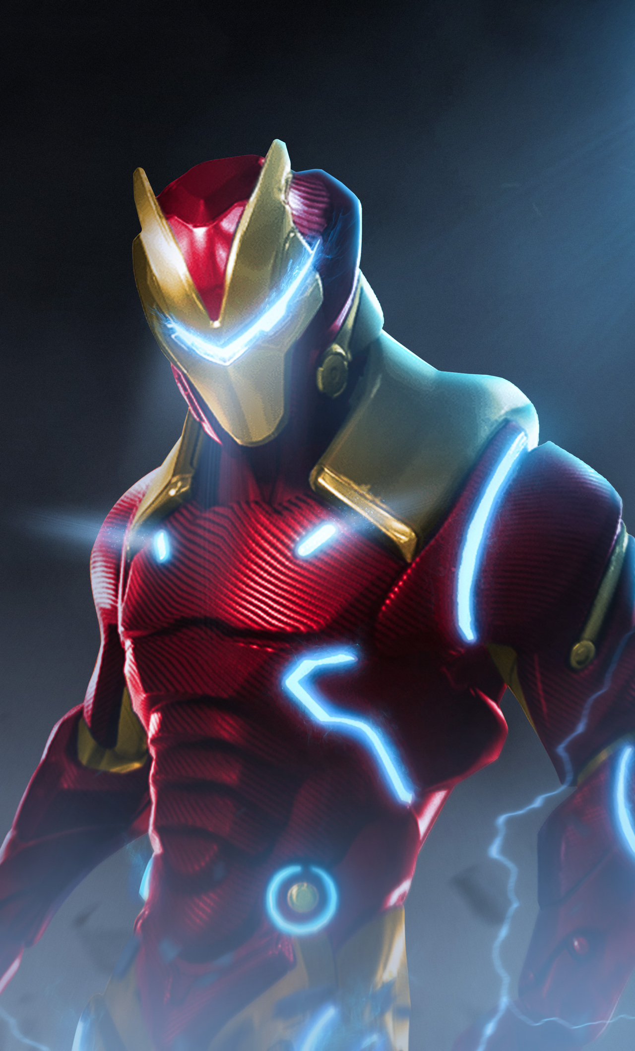 1280x2120 Fortnite X Marvel Iron Man Iphone 6 Hd 4k Wallpapers