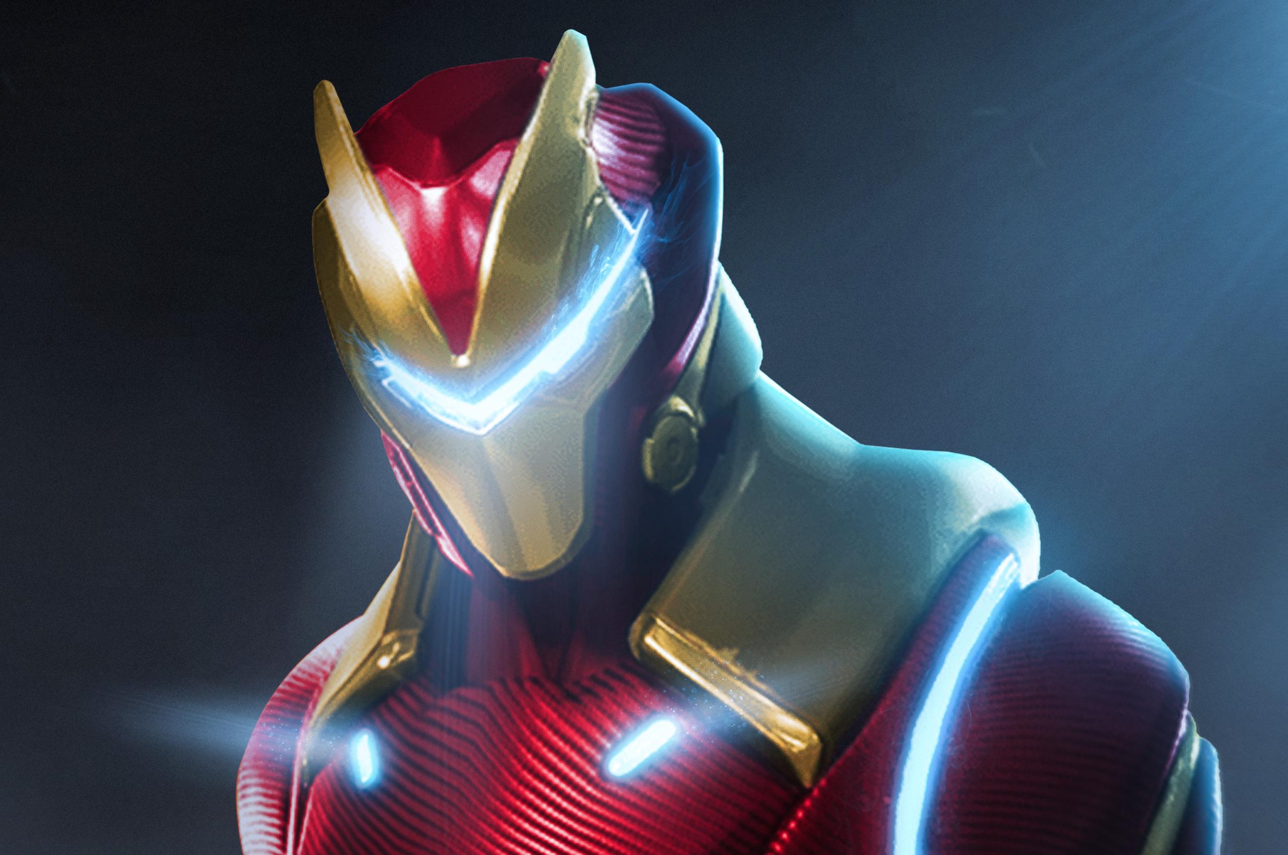 2560x1700 Fortnite X Marvel Iron Man Chromebook Pixel Hd 4k