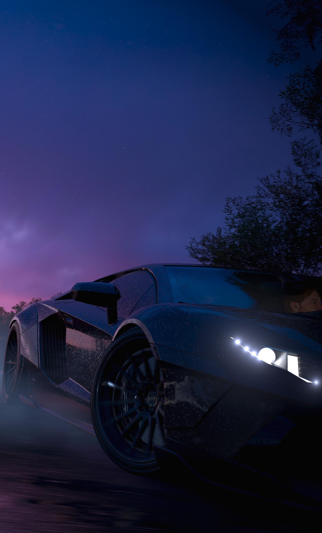 Forza Horizon 3 4k Lamborghini Aventador E7