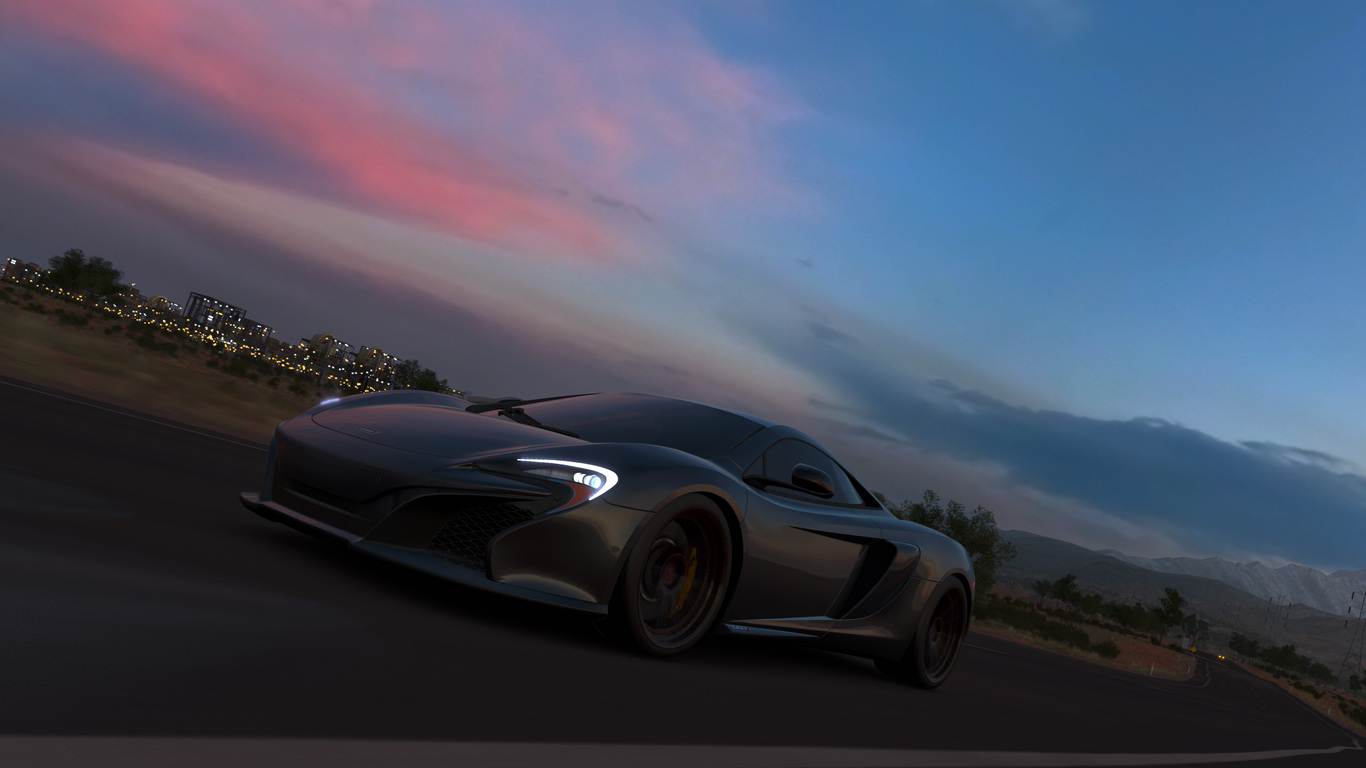 Forza Horizon 3 Background: 1366x768 Forza Horizon 3 McLaren 1366x768 Resolution HD 4k