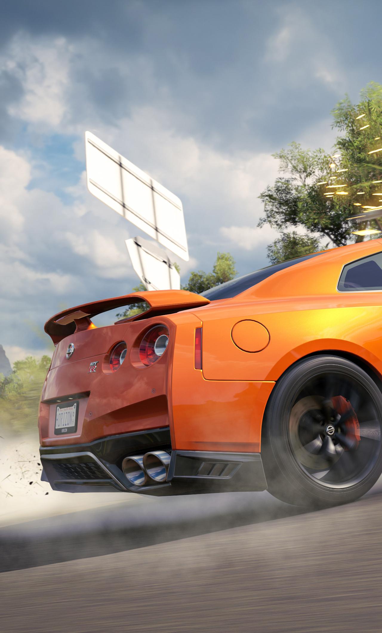Forza Horizon 3 Nissan Gtr Drift 4k Cy
