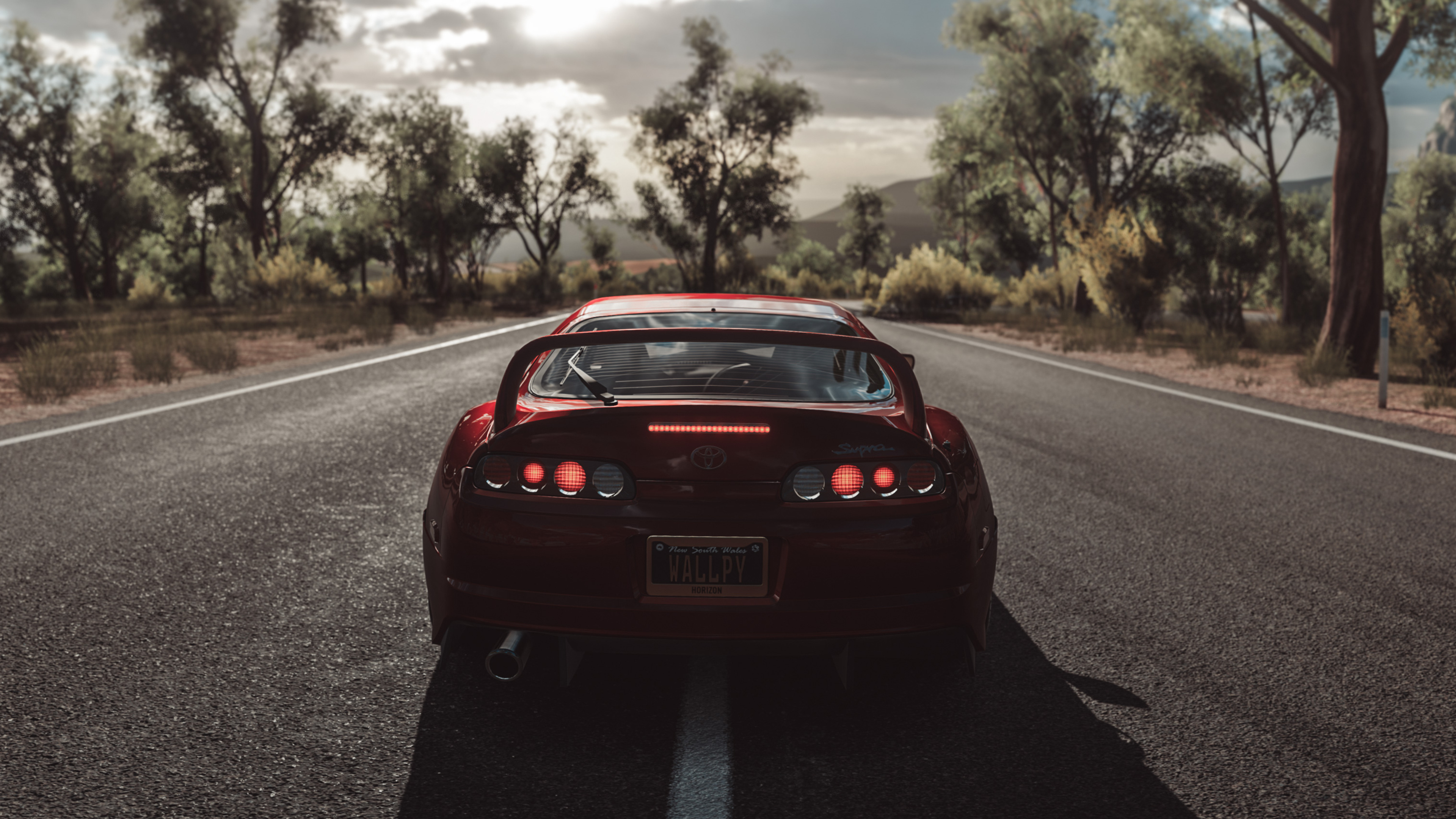 3840x2160 forza horizon 3 toyota supra 4k hd 4k wallpapers images backgrounds photos and pictures - Forza logo wallpaper ...