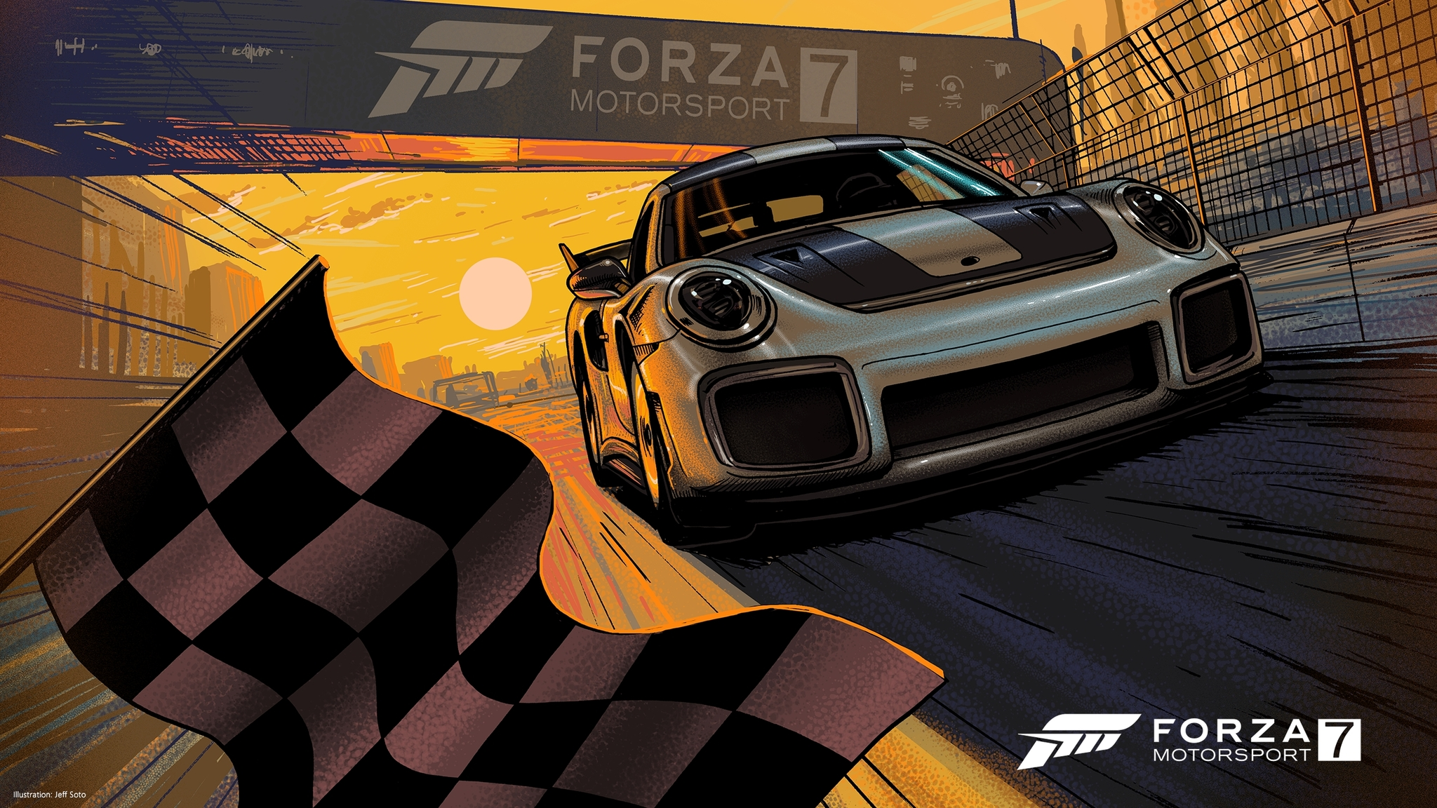 2048x1152 forza motorsport 7 artwork 2048x1152 resolution hd 4k wallpapers images backgrounds - Forza logo wallpaper ...