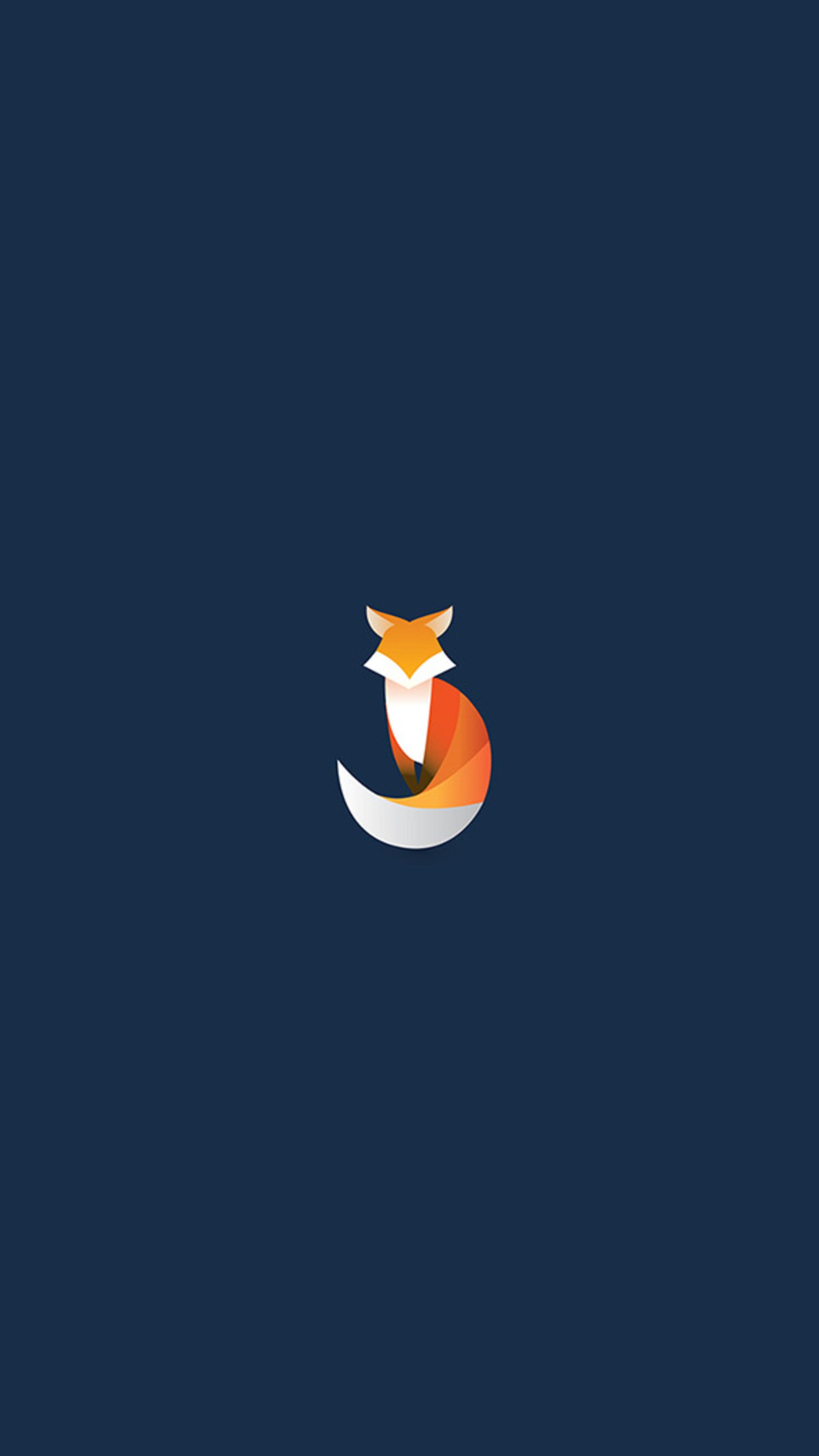 2160x3840 fox logo minimalism sony xperia x xz z5 premium - Art wallpaper 2160x3840 ...