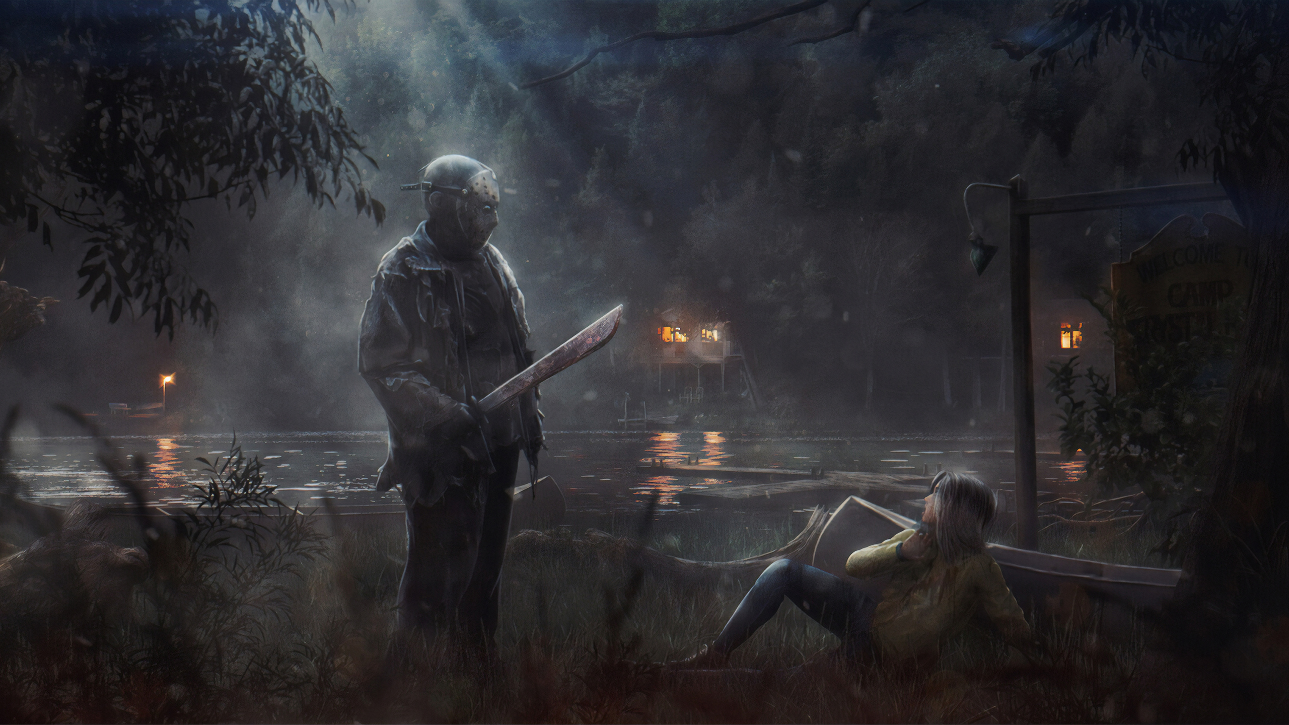 2560x1440 Friday The 13th Game 4k 1440p Resolution Hd 4k