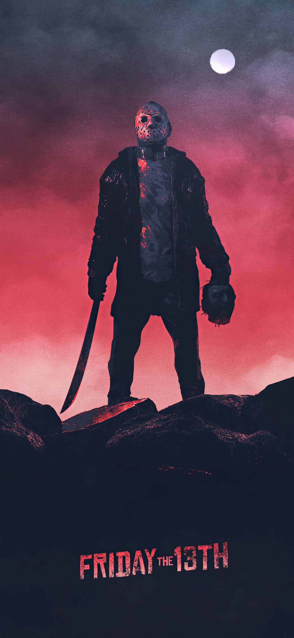 1125x2436 Friday The 13th Poster Iphone XS,Iphone 10 ...