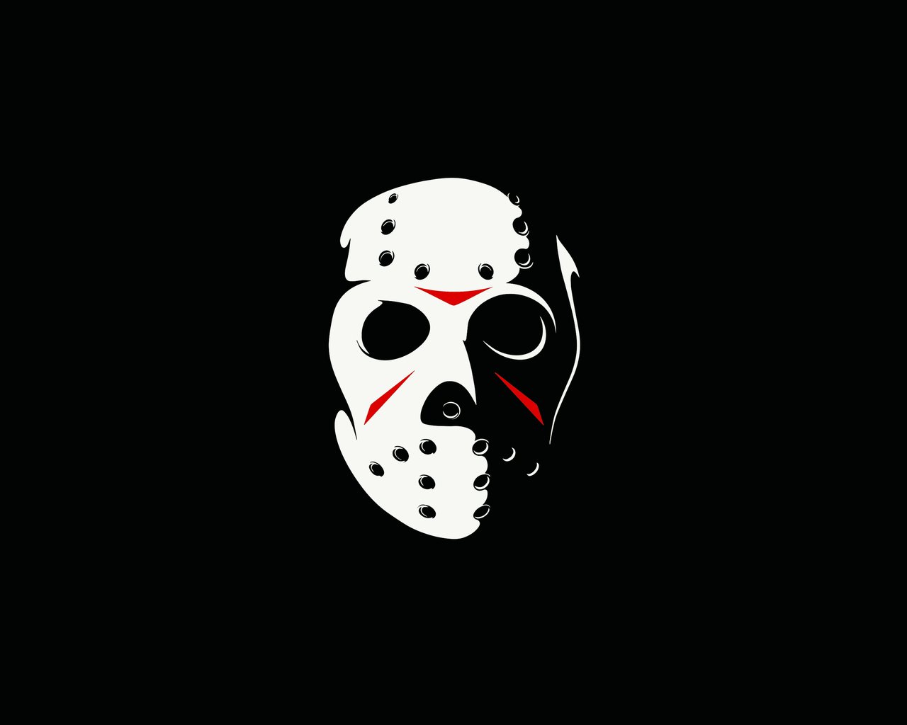 1280x1024 Friday The 13th The Game Minimalism Dark 4k 1280x1024