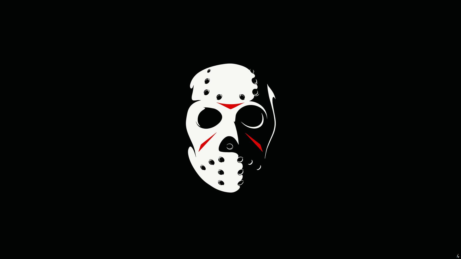 1600x900 Friday The 13th The Game Minimalism Dark 4k 1600x900