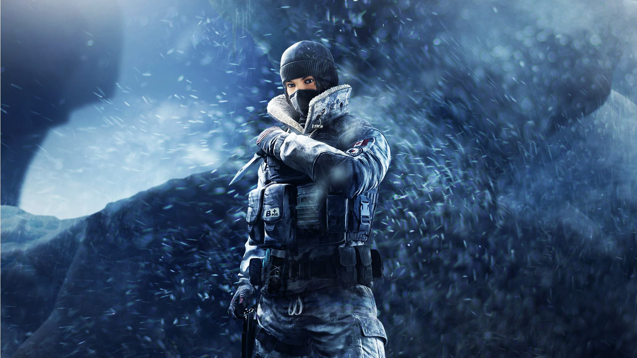 Rainbow Six Siege Wallpaper Hd: 2048x1152 Frost Tom Clancys Rainbow Six Siege 5k 2048x1152