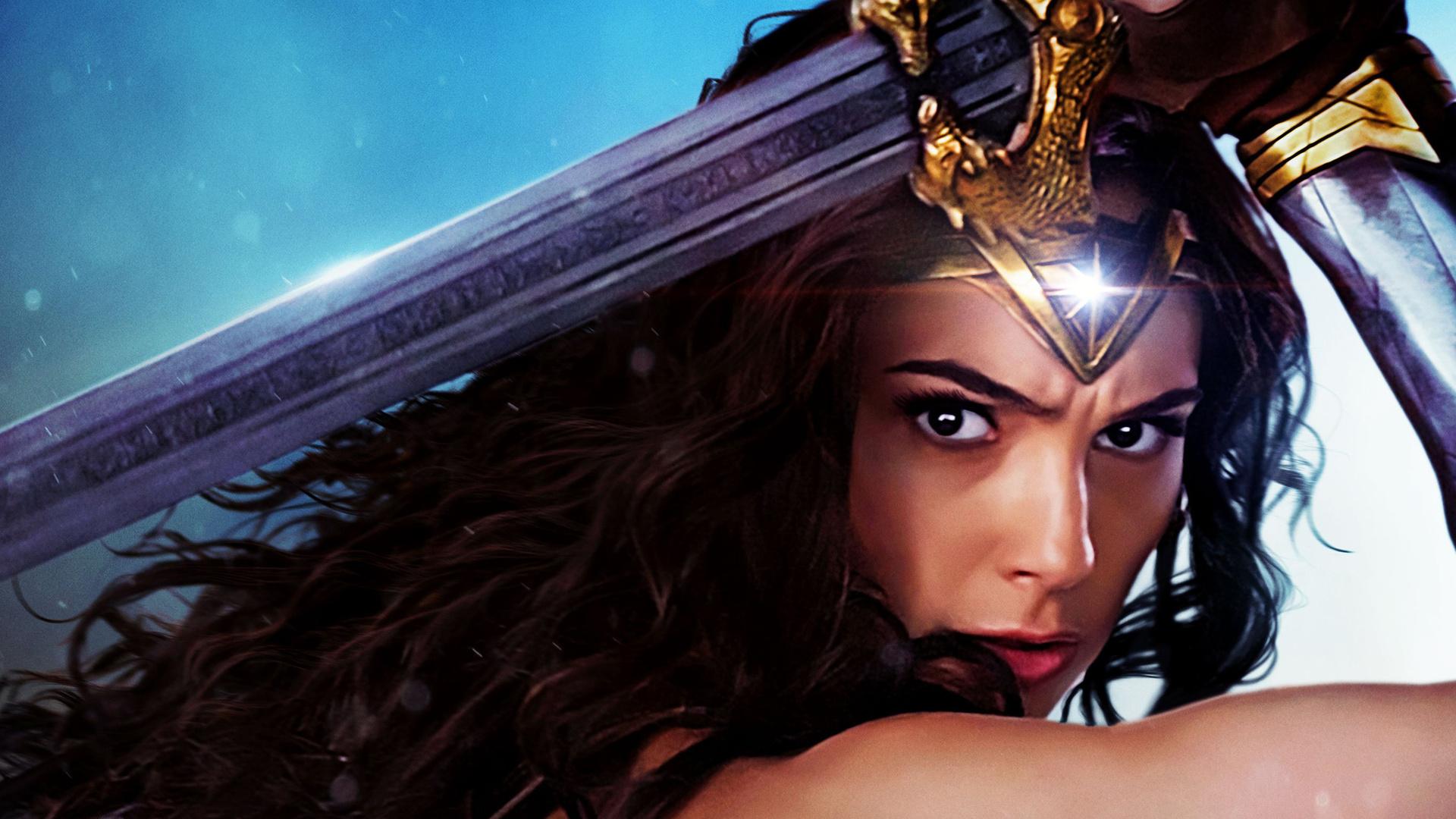 Wonder Woman Movie Wallpaper 1: 1920x1080 Gal Gadot Wonder Woman Movie 2017 Laptop Full HD