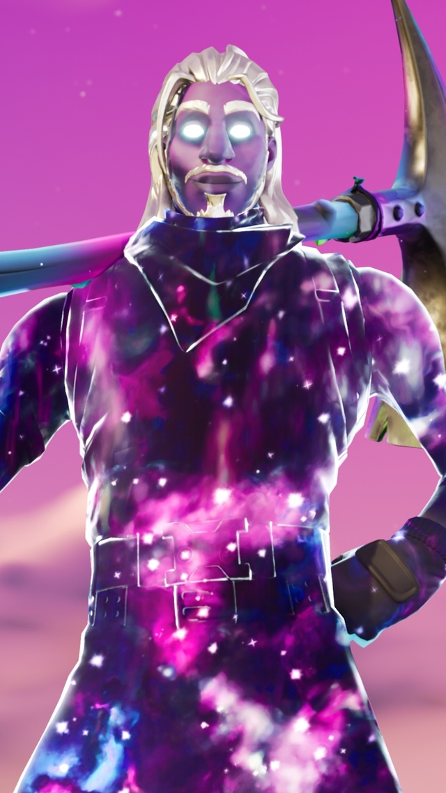 640x1136 Galaxy Man Fortnite Season 6 4k Iphone 55c5sse