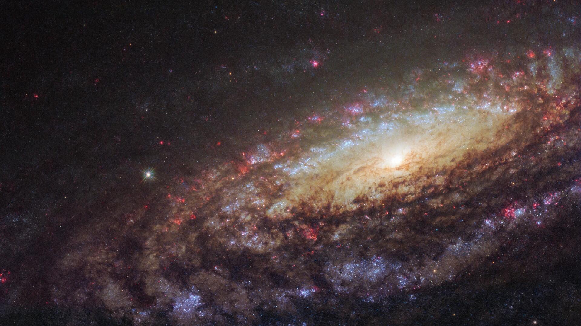 galaxy stars space so