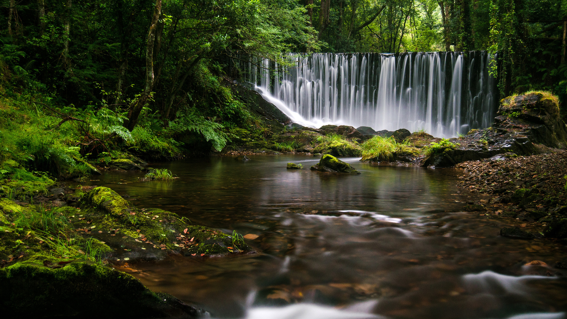 1920x1080 Galician Waterfall 4k Laptop Full HD 1080P HD 4k ...